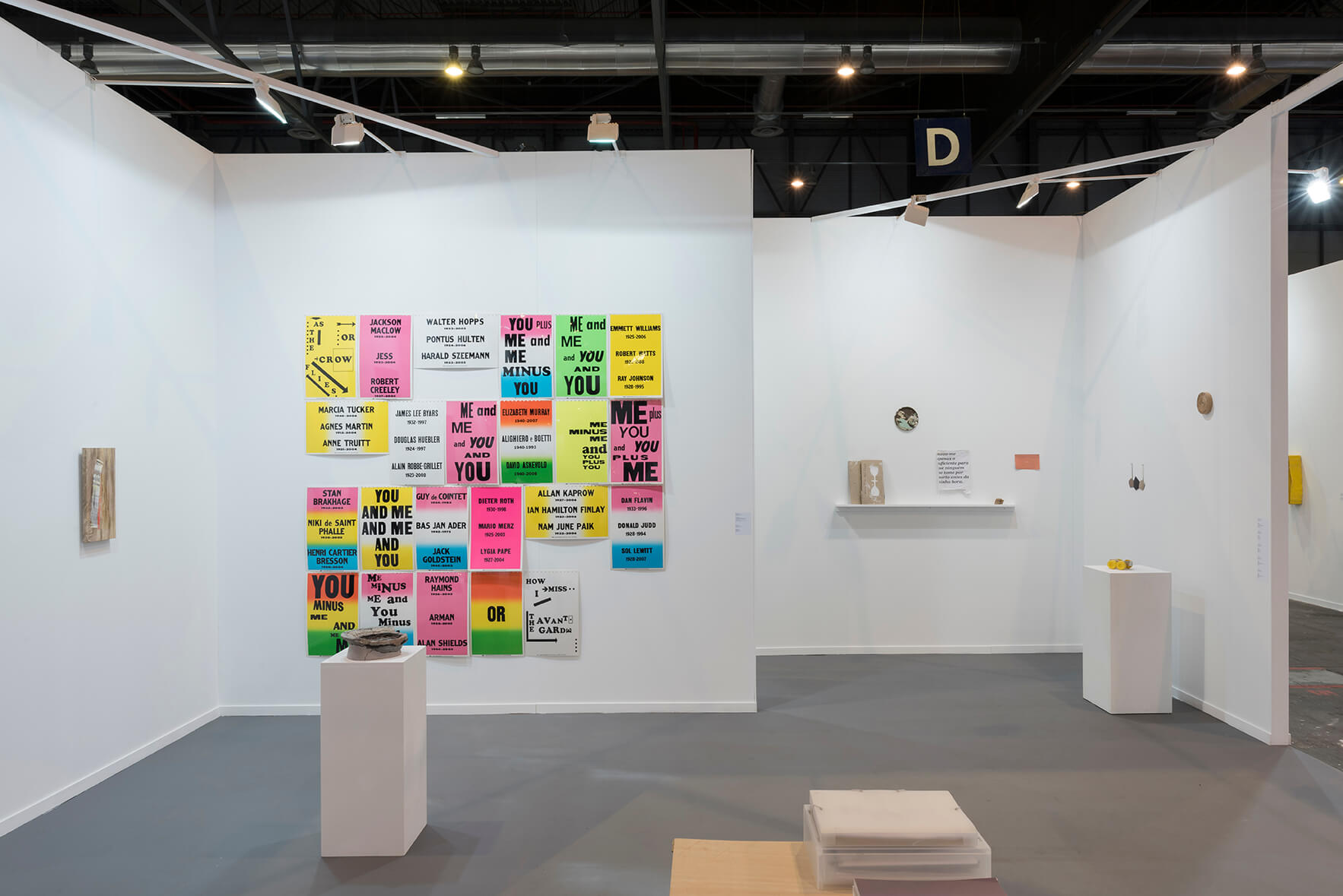 Installation view: ProjecteSD, Booth 9D11 | ARCO 2018 | ProjecteSD