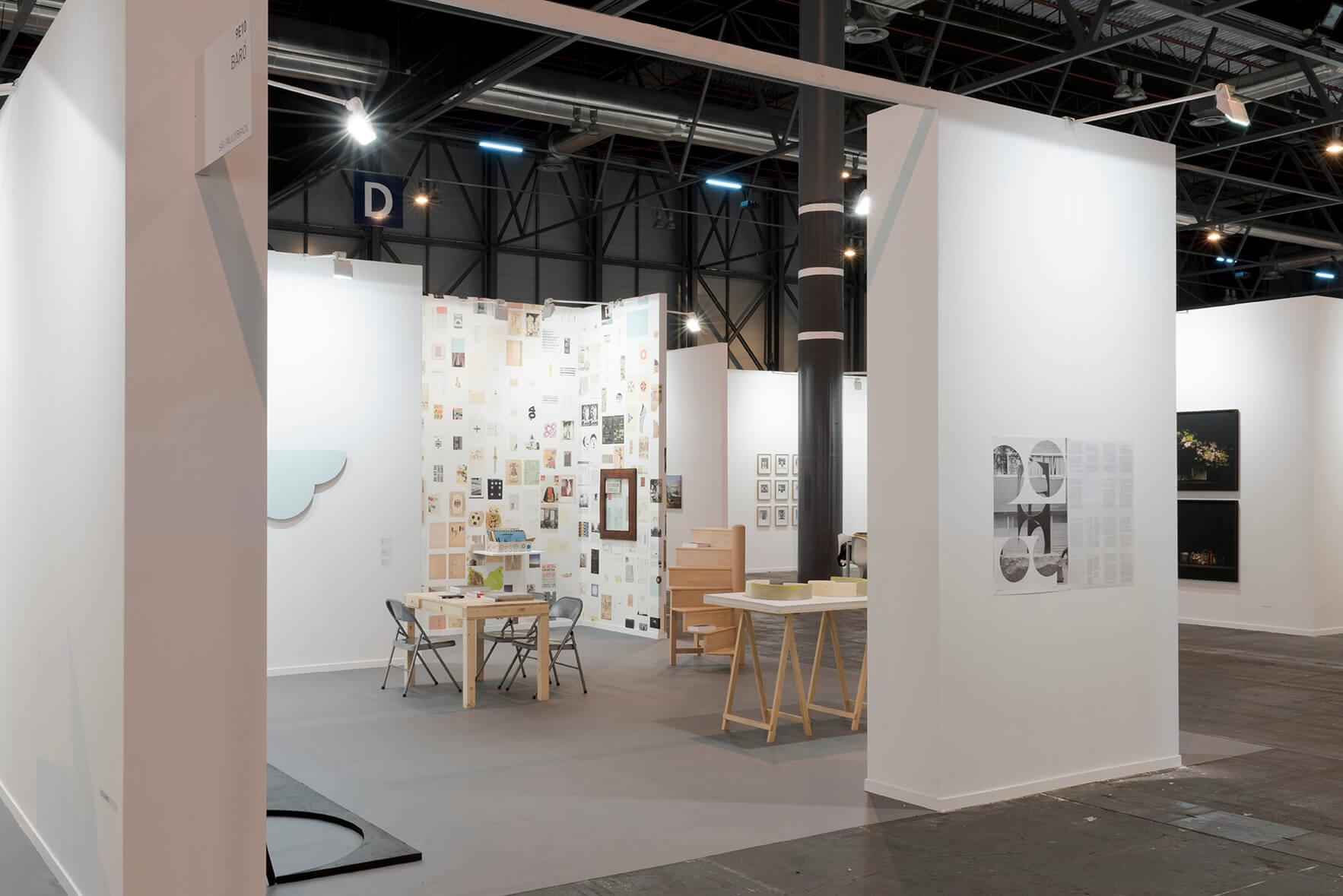 Installation view: ProjecteSD, Booth 9D13 | ARCO 2017 | ProjecteSD