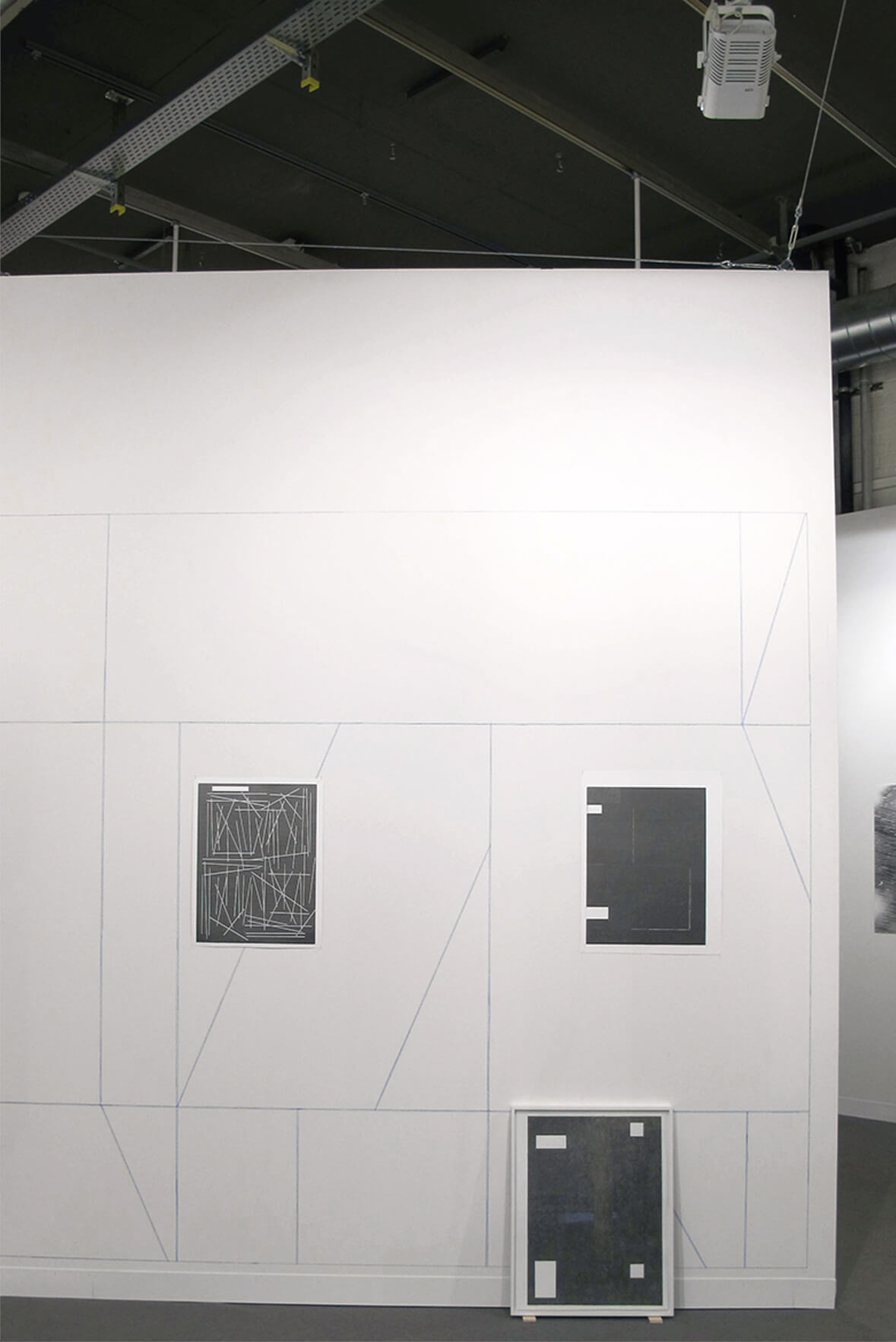 Installation view: ProjecteSD, Booth L4 | ART BASEL 2016 | ProjecteSD