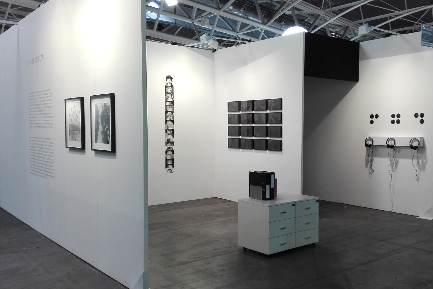 Installation view: ProjecteSD, Booth PF09 | ARTISSIMA 2016 | ProjecteSD
