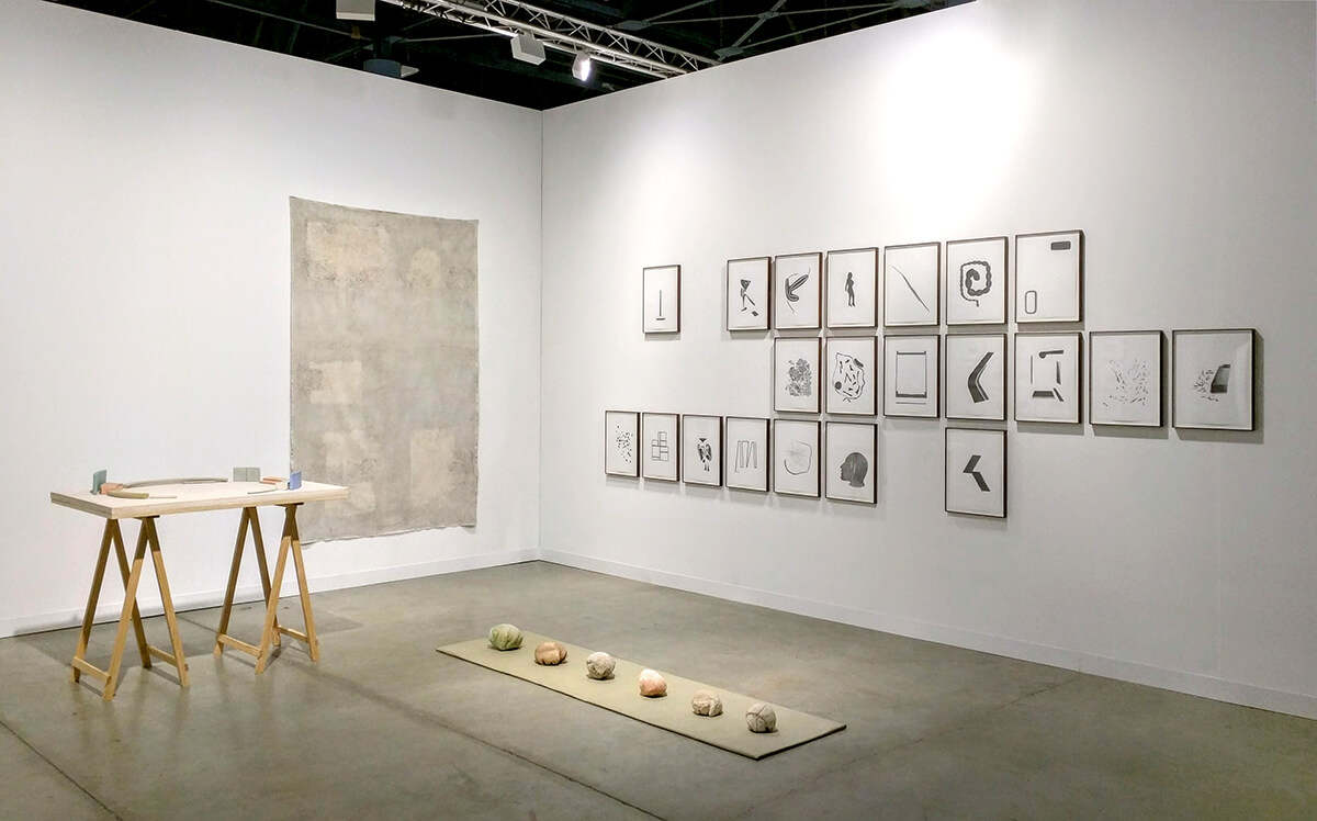 Installation view: ProjecteSD, Booth C25 | ART BASEL MIAMI BEACH 2016 | ProjecteSD