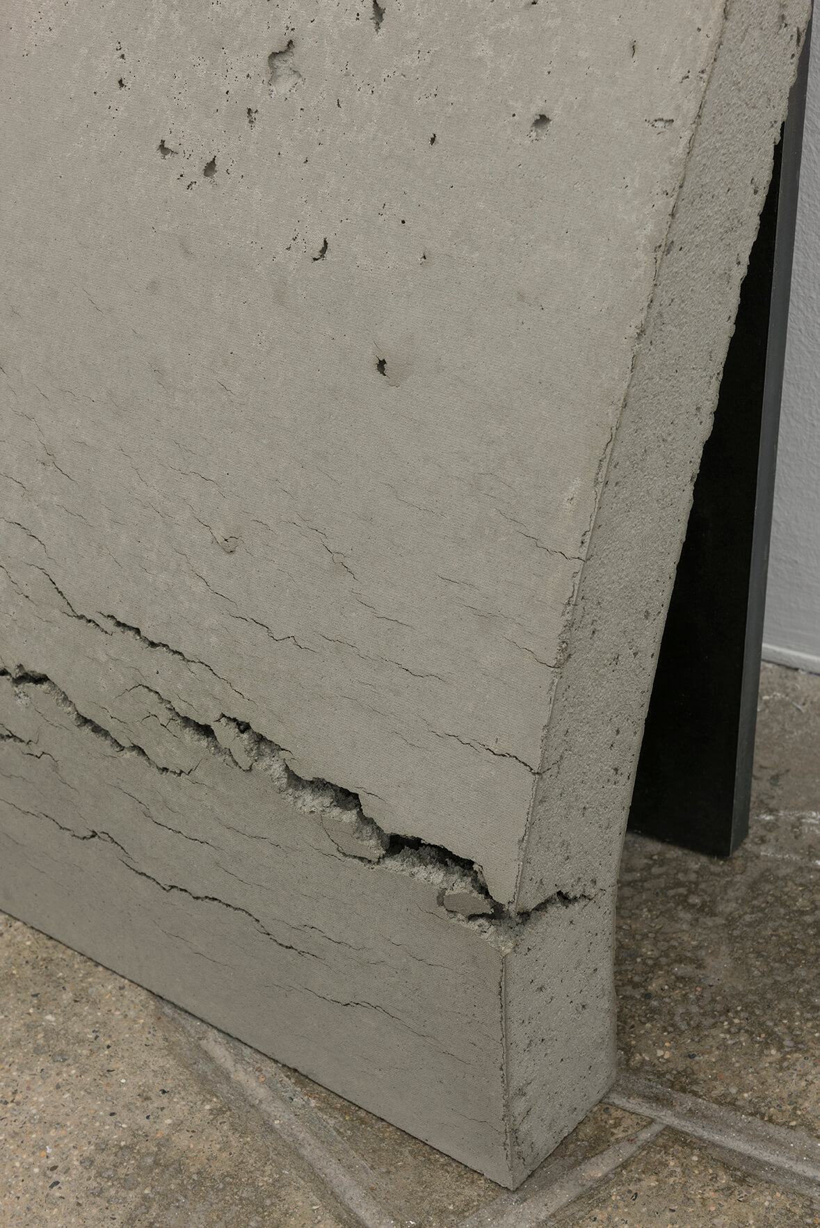 Untitled (Stahl, Beton), 2017. (Detail) | On Fold | ProjecteSD