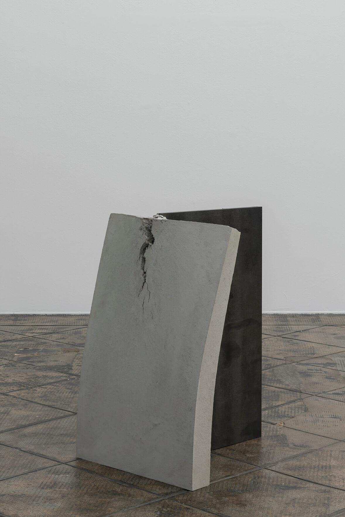 Untitled (Stahl, Beton), 2017   On Fold   ProjecteSD