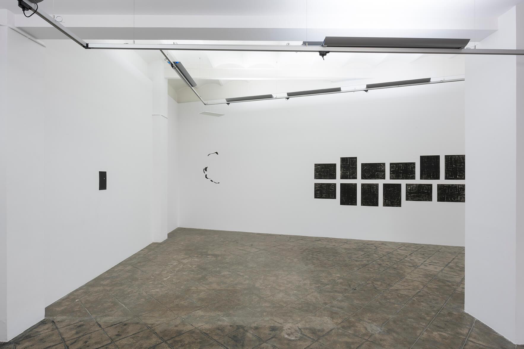 Installation view: Accrochage #2: Escritura Nocturna, ProjecteSD | Accrochage #2: Escritura Nocturna | ProjecteSD