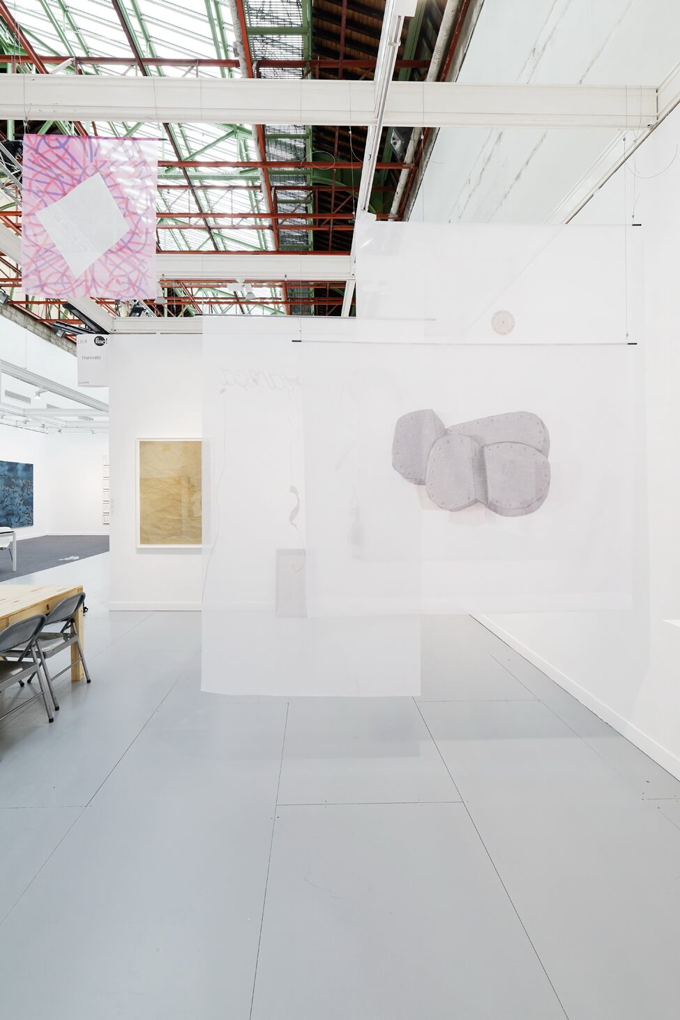 Installation view: ProjecteSD, Booth 1H18 | FIAC 2016 | ProjecteSD