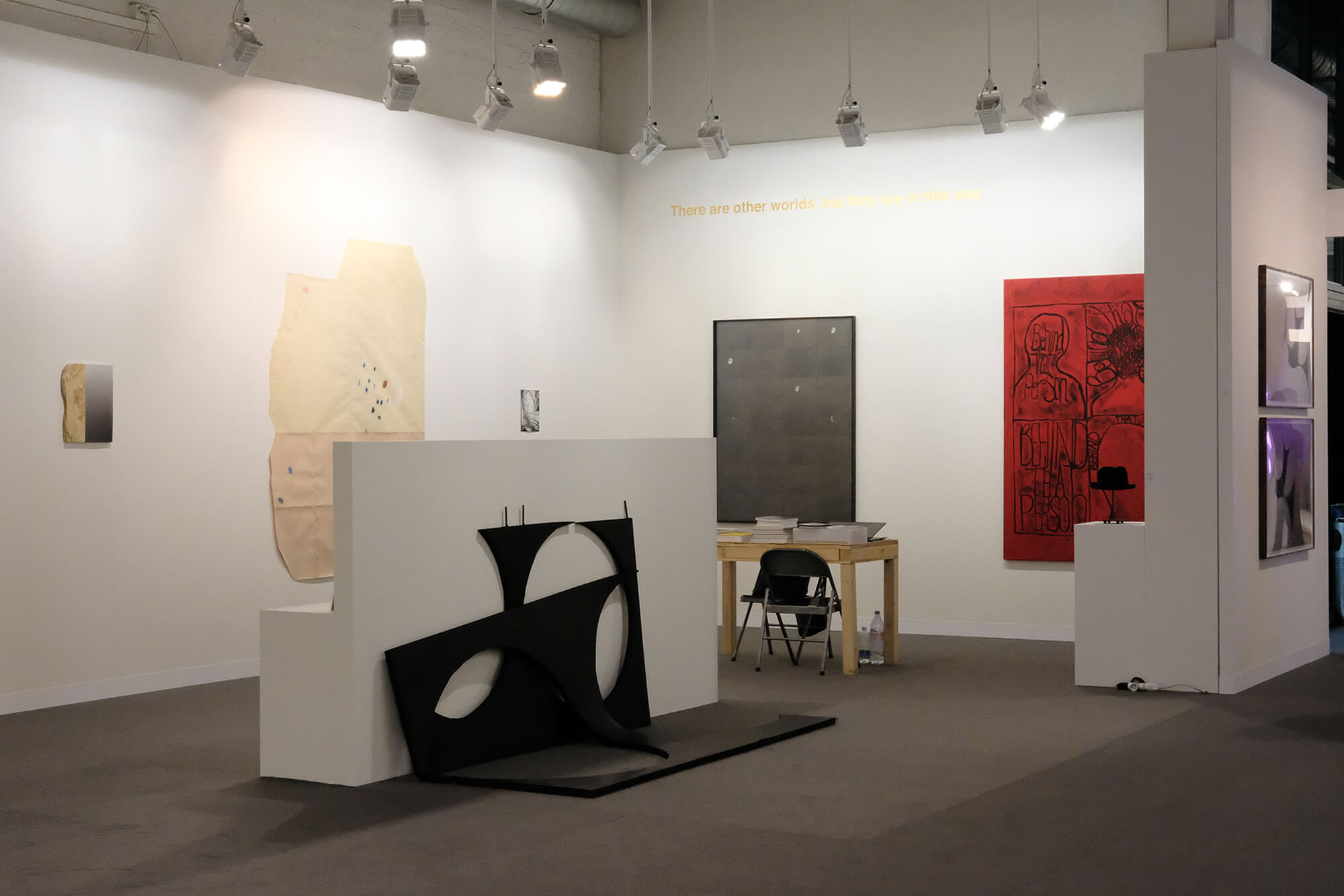 Installation view: ProjecteSD, Booth L4 | ART BASEL 2018 | ProjecteSD