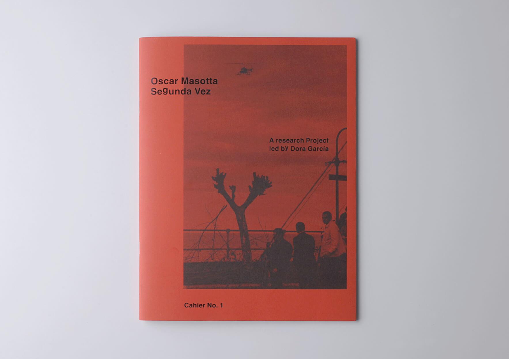 | Oscar Masotta: Segunda vez. Cahier No. 1 | ProjecteSD