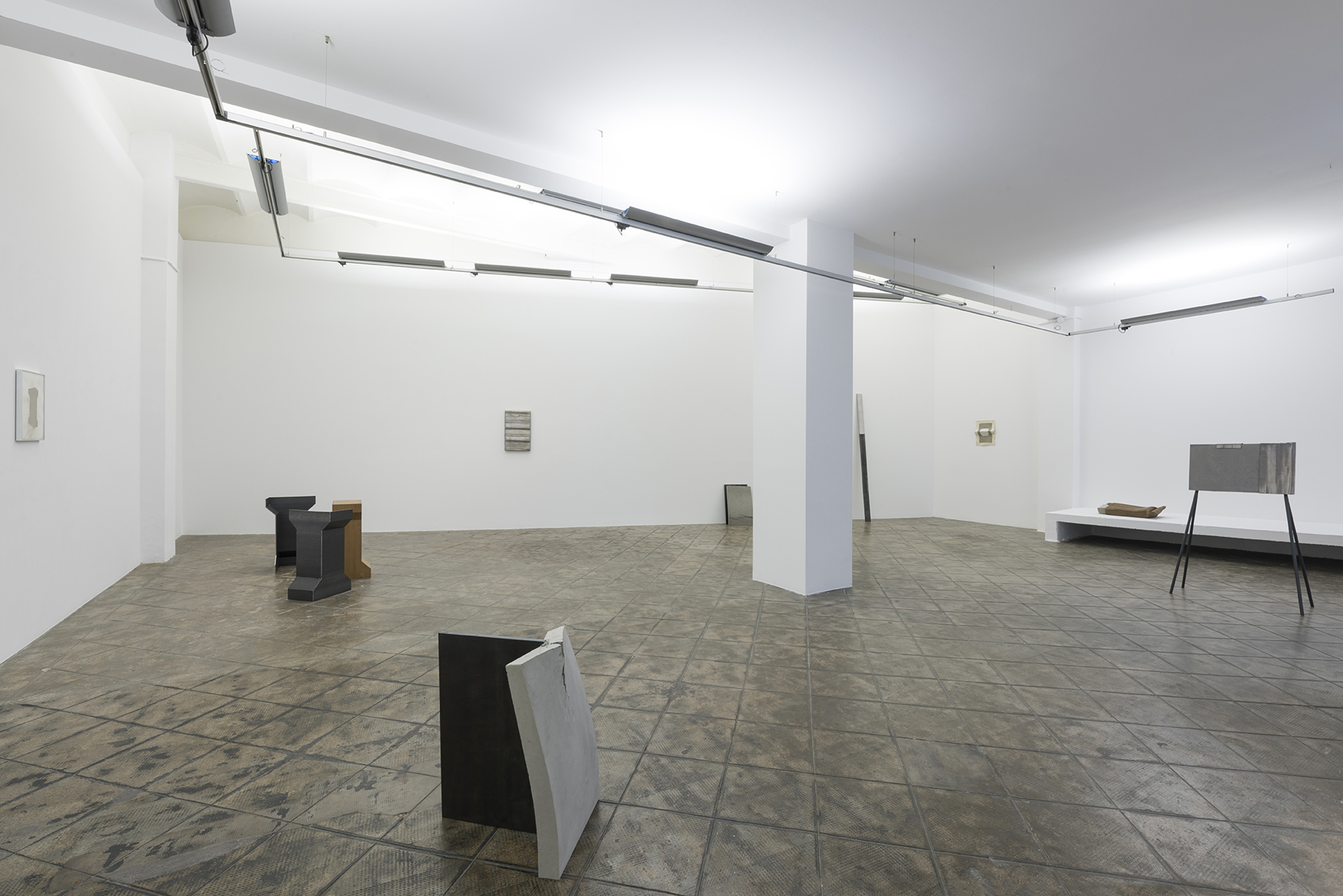 Installation view: Christoph Weber: On Fold, ProjecteSD |  | ProjecteSD