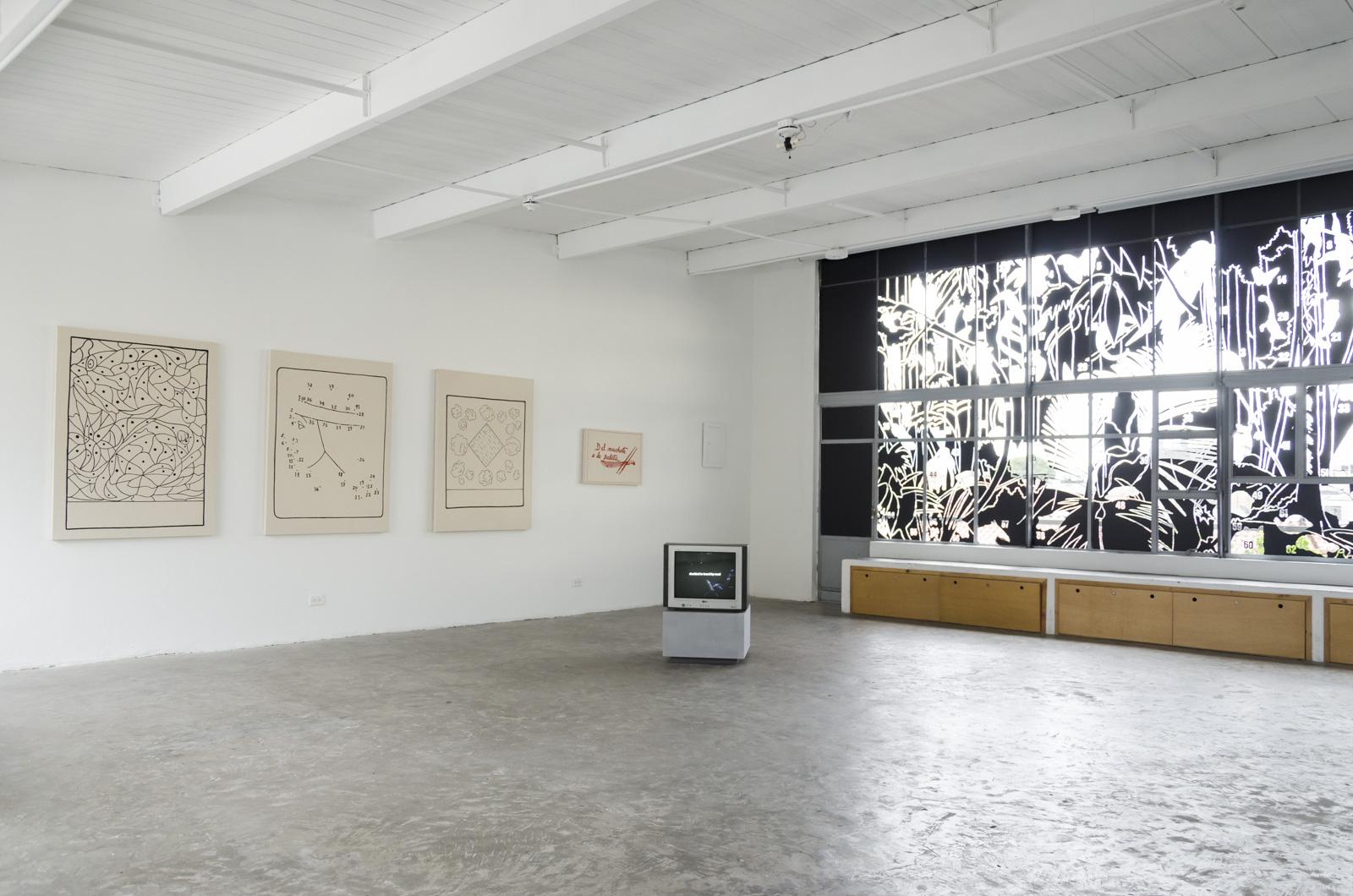 Installation view: Segunda naturaleza. Gráficas y abstracciones de lugar,FLORA ars + natura, Bogotá, 2016 |  | ProjecteSD