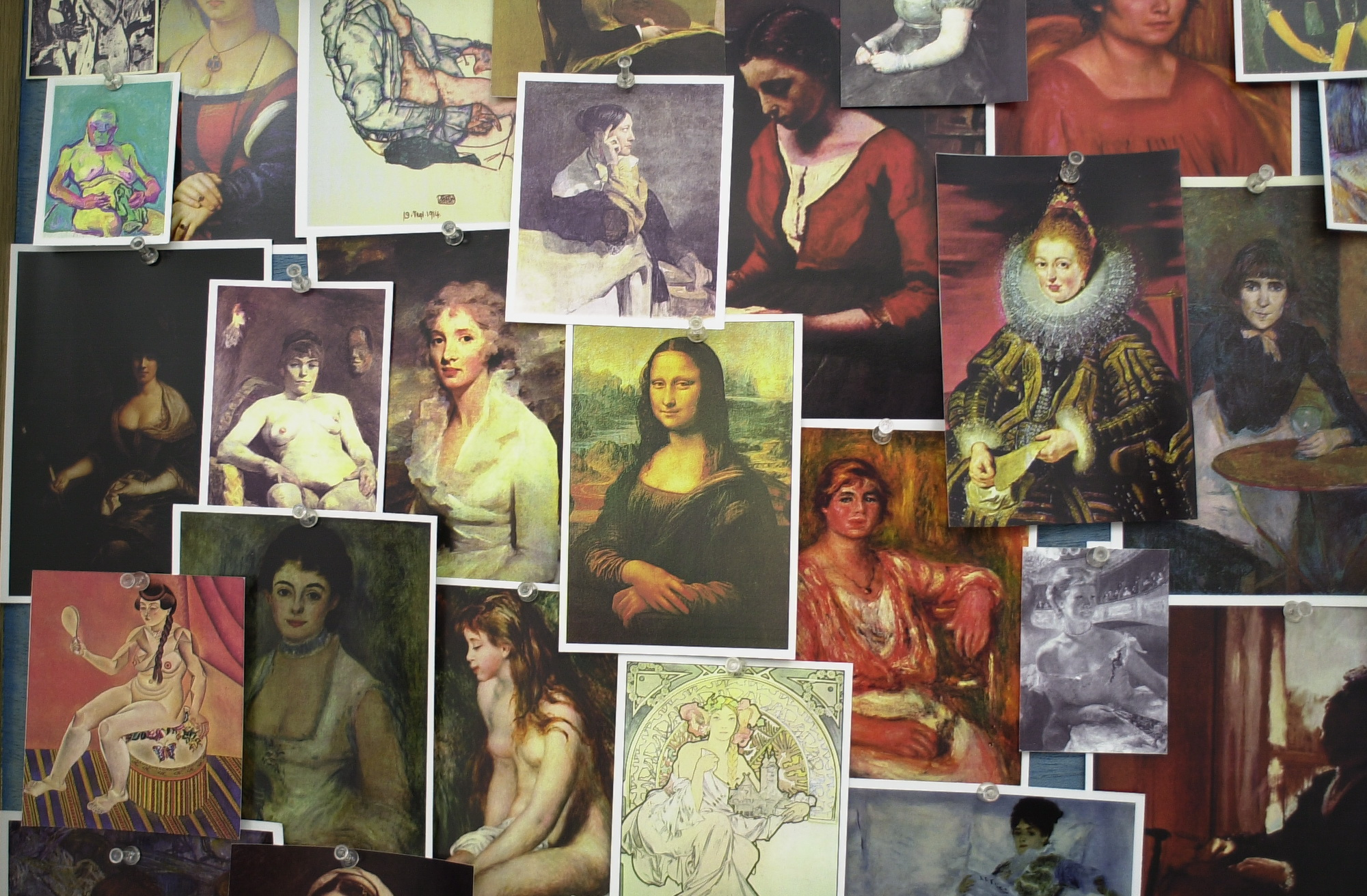 Seated Women in Paintings, 2008 (detail) |  | ProjecteSD