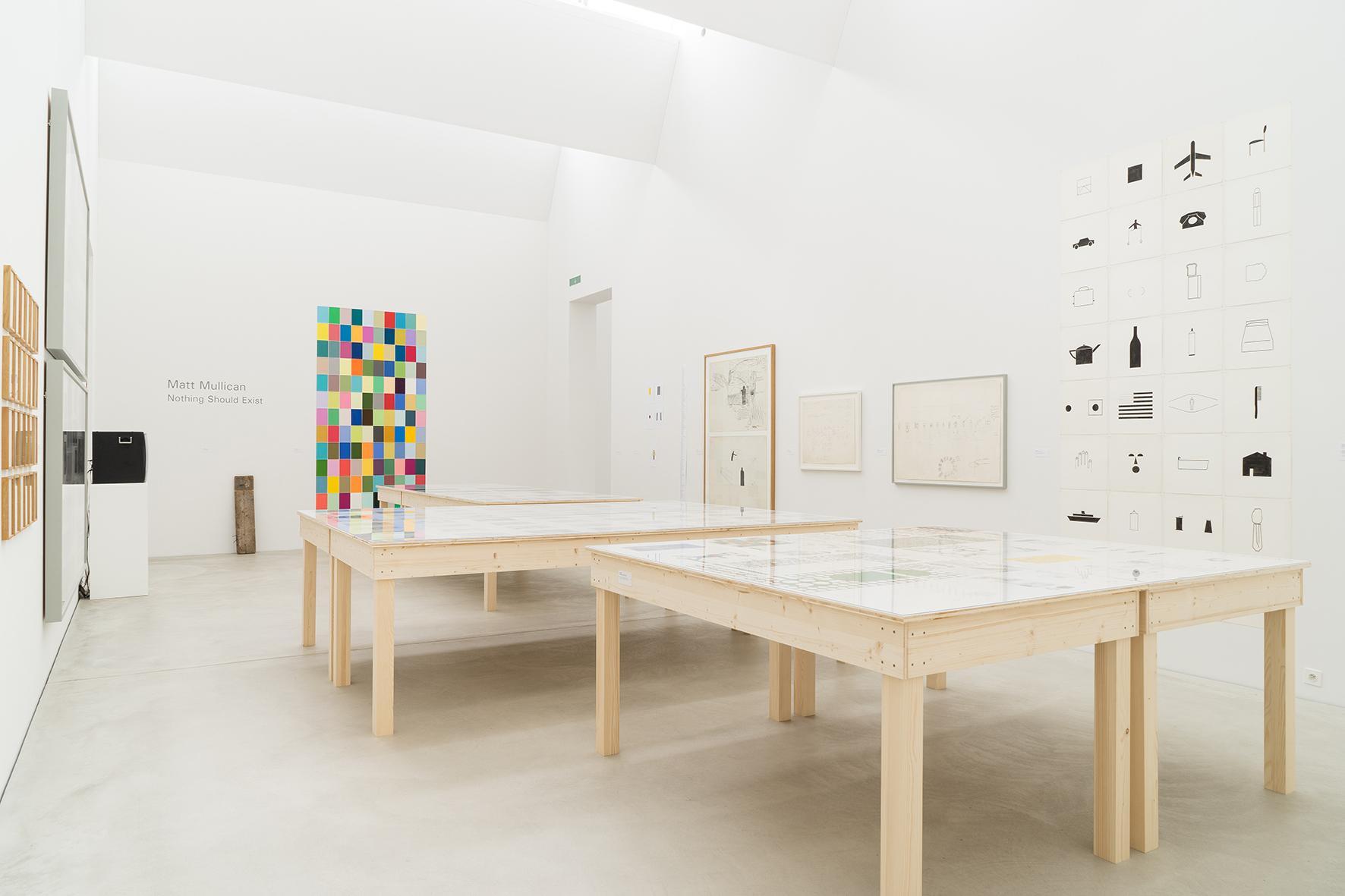Installation view: Matt Mullican: Nothing Should Exist, Kunstmuseum Winterthur |  | ProjecteSD