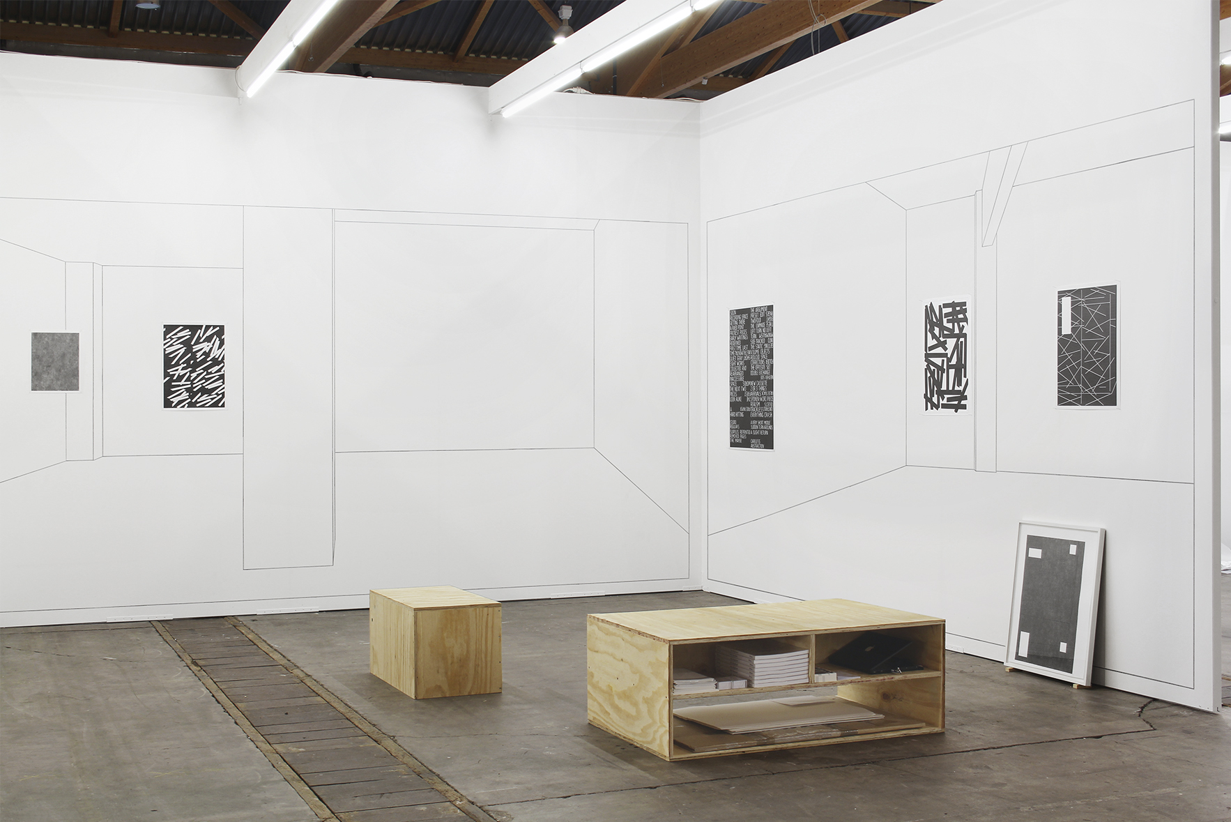 Installation view: Art Brussels, Booth ProjecteSD, 2014 |  | ProjecteSD