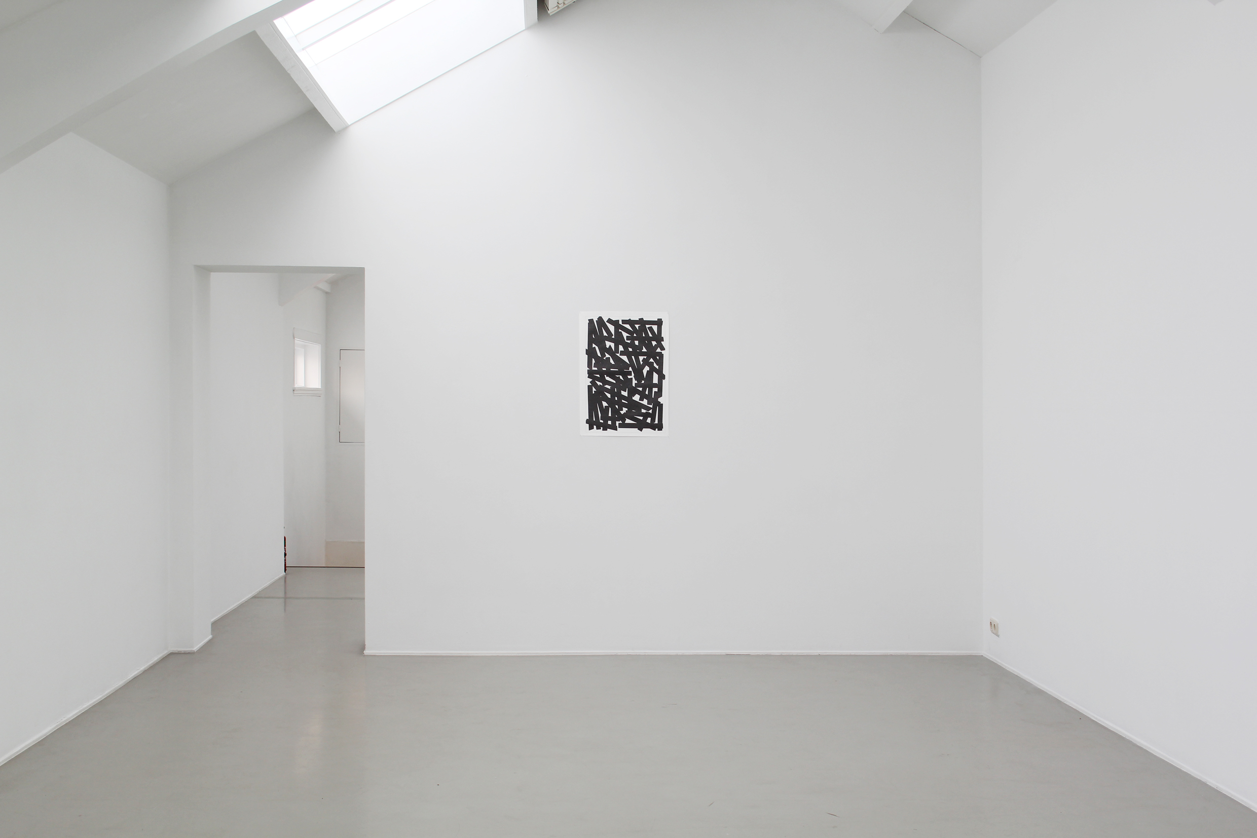 Installation view: Not Available De Vleeshal, De Kabinetten, Mi ddelburg, The Netherlands, 2014 |  | ProjecteSD