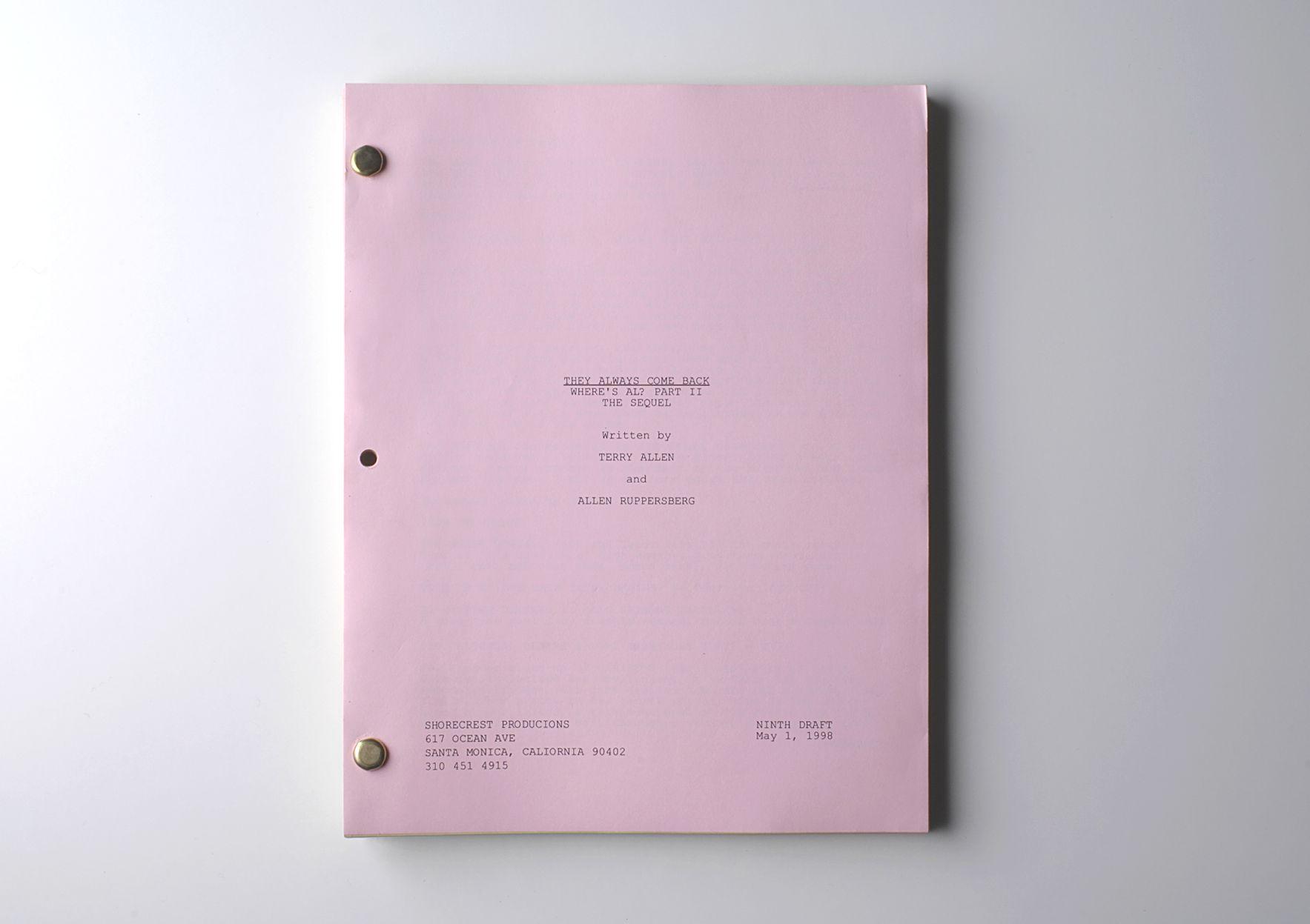 Where's Al? Part II – The Sequel, 1997 (detail)      ProjecteSD