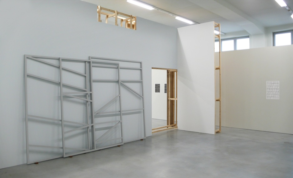 Exhibition view: One Show About One Drawing, M-Museum Leuven, Leuven, Belgium, 2011 |  | ProjecteSD