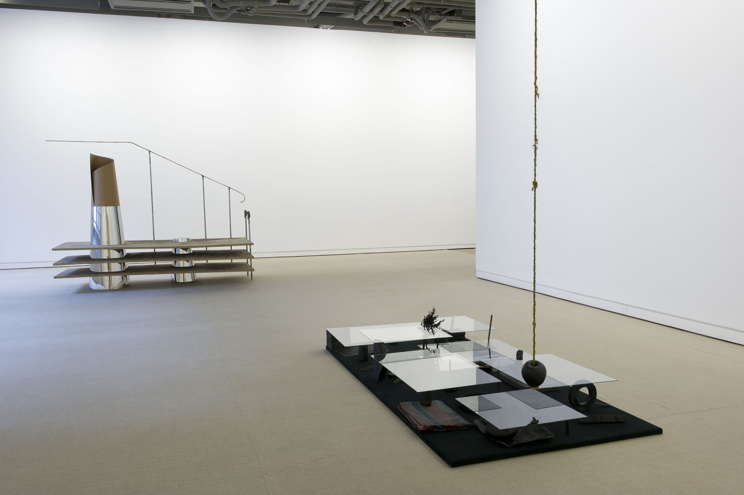 Installation view: Black Apple Falls, Fondation d'Entreprise Ricard, Paris, France, 2011 |  | ProjecteSD