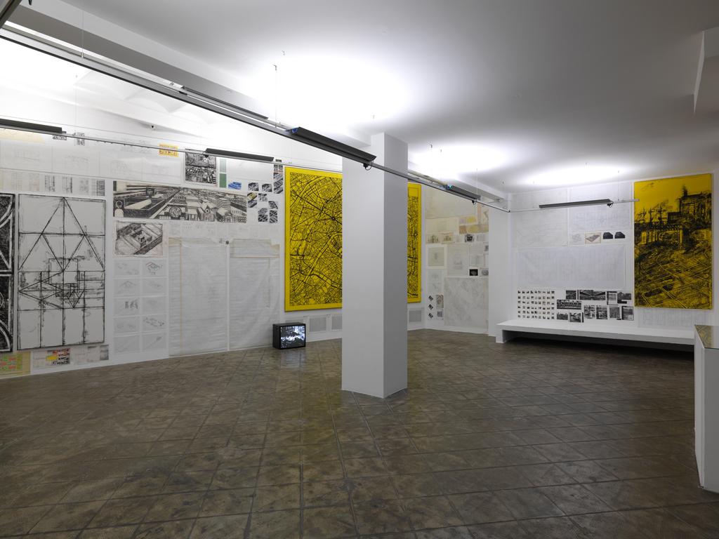 Installation view: City, ProjecteSD, Barcelona, 2011 |  | ProjecteSD