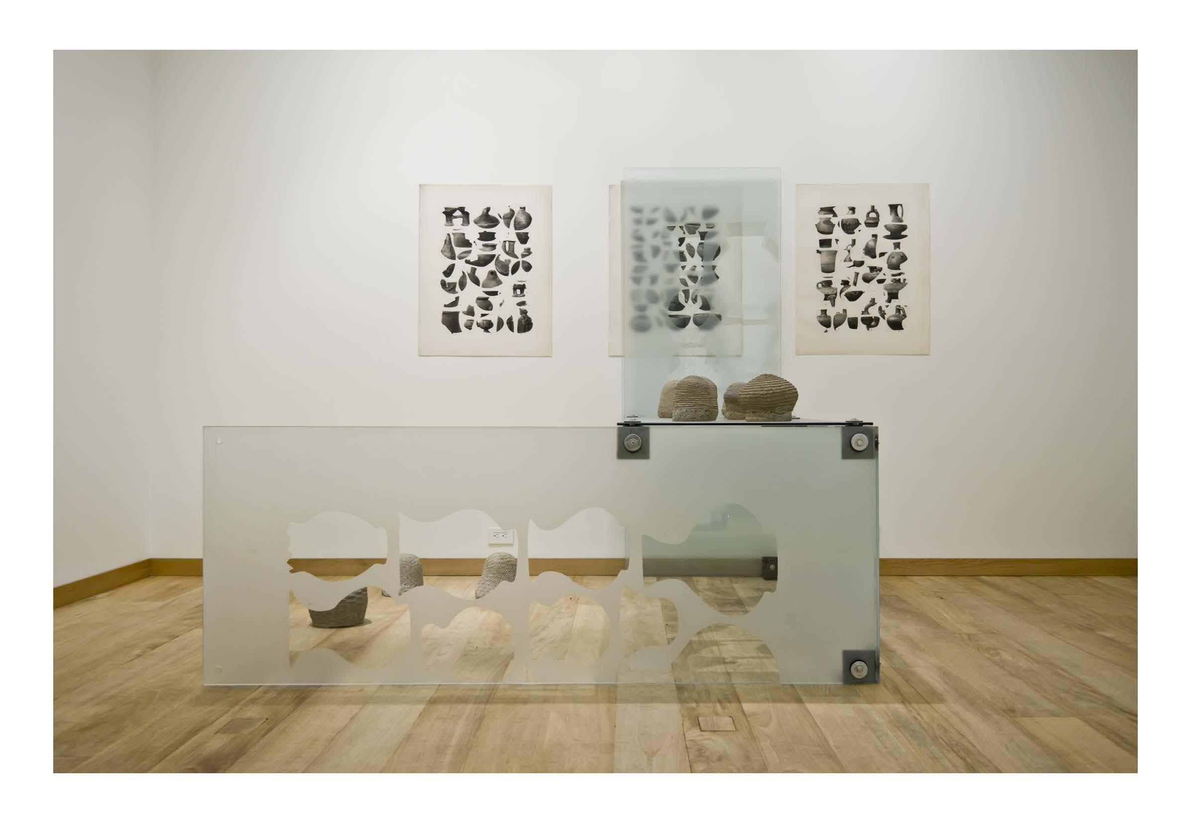 Installation view: Problemas de Estilo y Vasijas de Barro, 2016. Museo de Arte Precolombino Casa del Alabado Quito, Ecuador |  | ProjecteSD