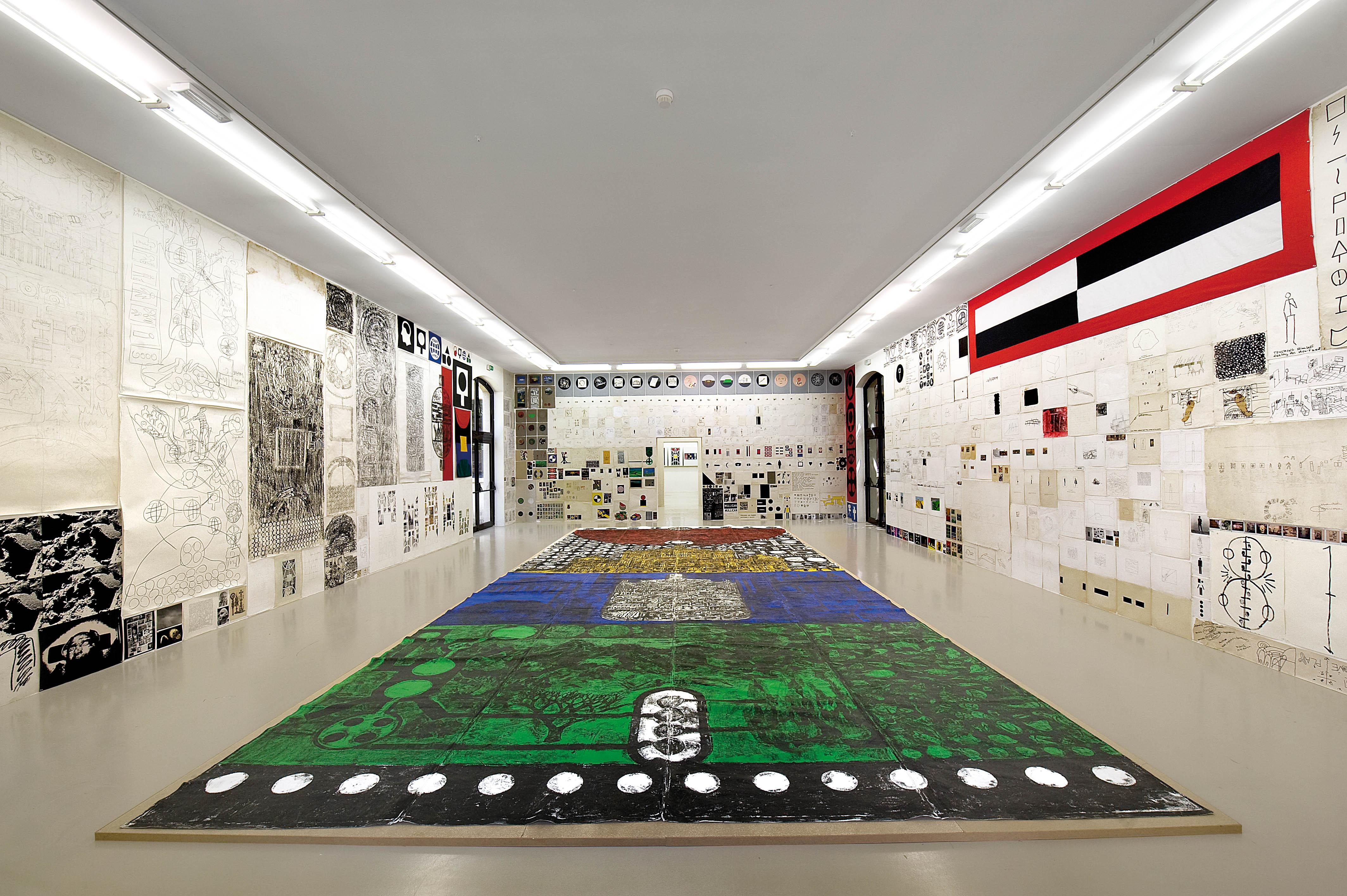 Installation view: Matt Mullican, 12 By 2, IAC Villeurbaine, France, 2010 |  | ProjecteSD