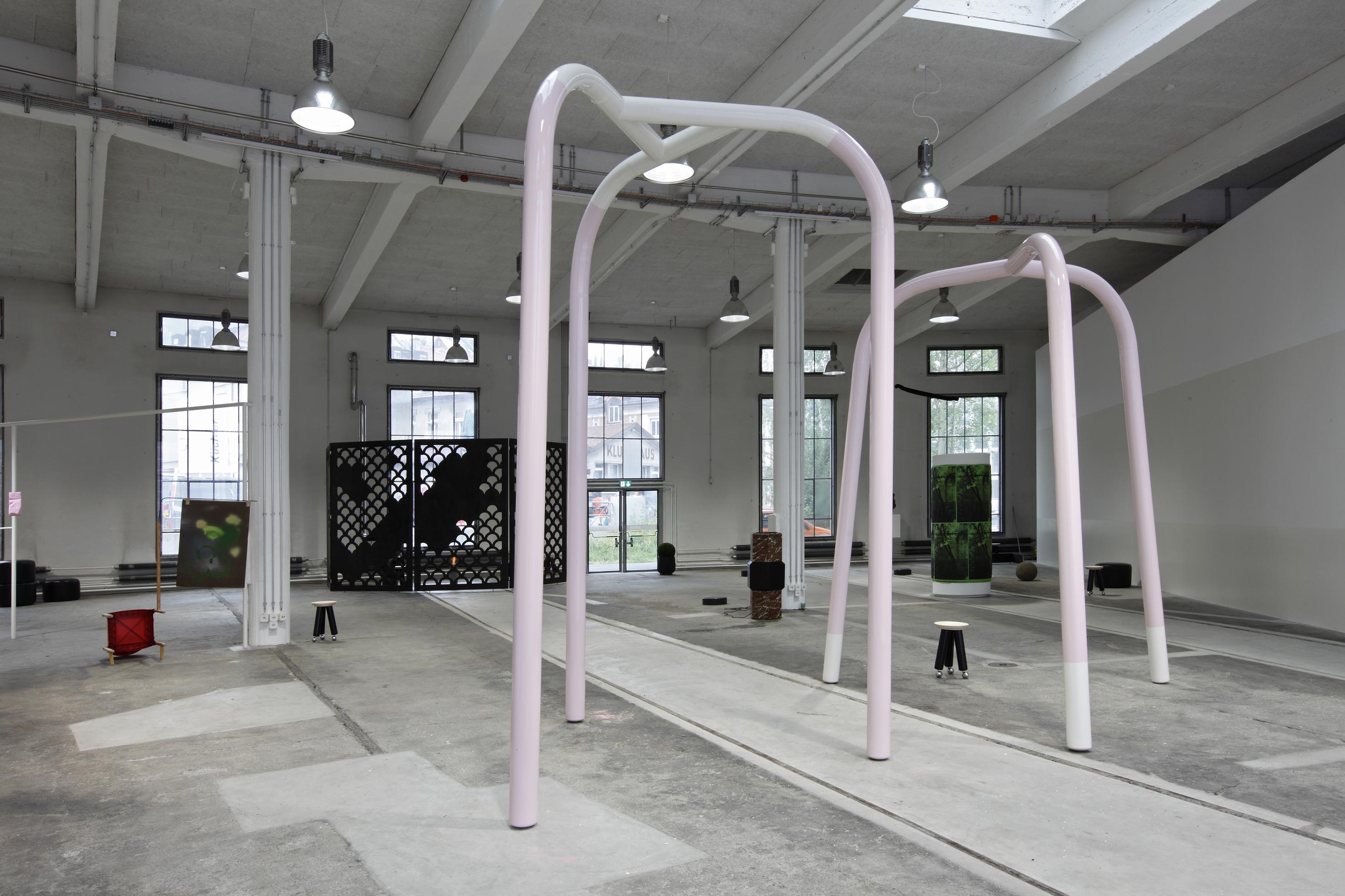 Installation view: Formidable Savage Repressiveness, Lok / Kunstmuseum St.Gallen, Switzerland, 2012 |  | ProjecteSD
