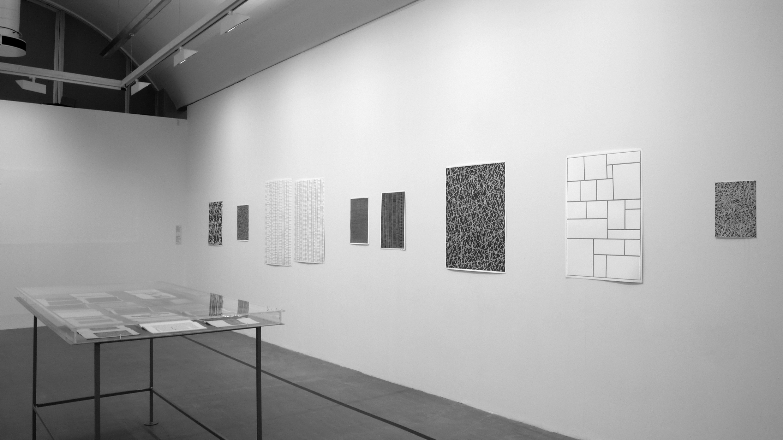 Installation view: Drawing Typologies, Stedelijk Museum, Amsterdam, 2007      ProjecteSD