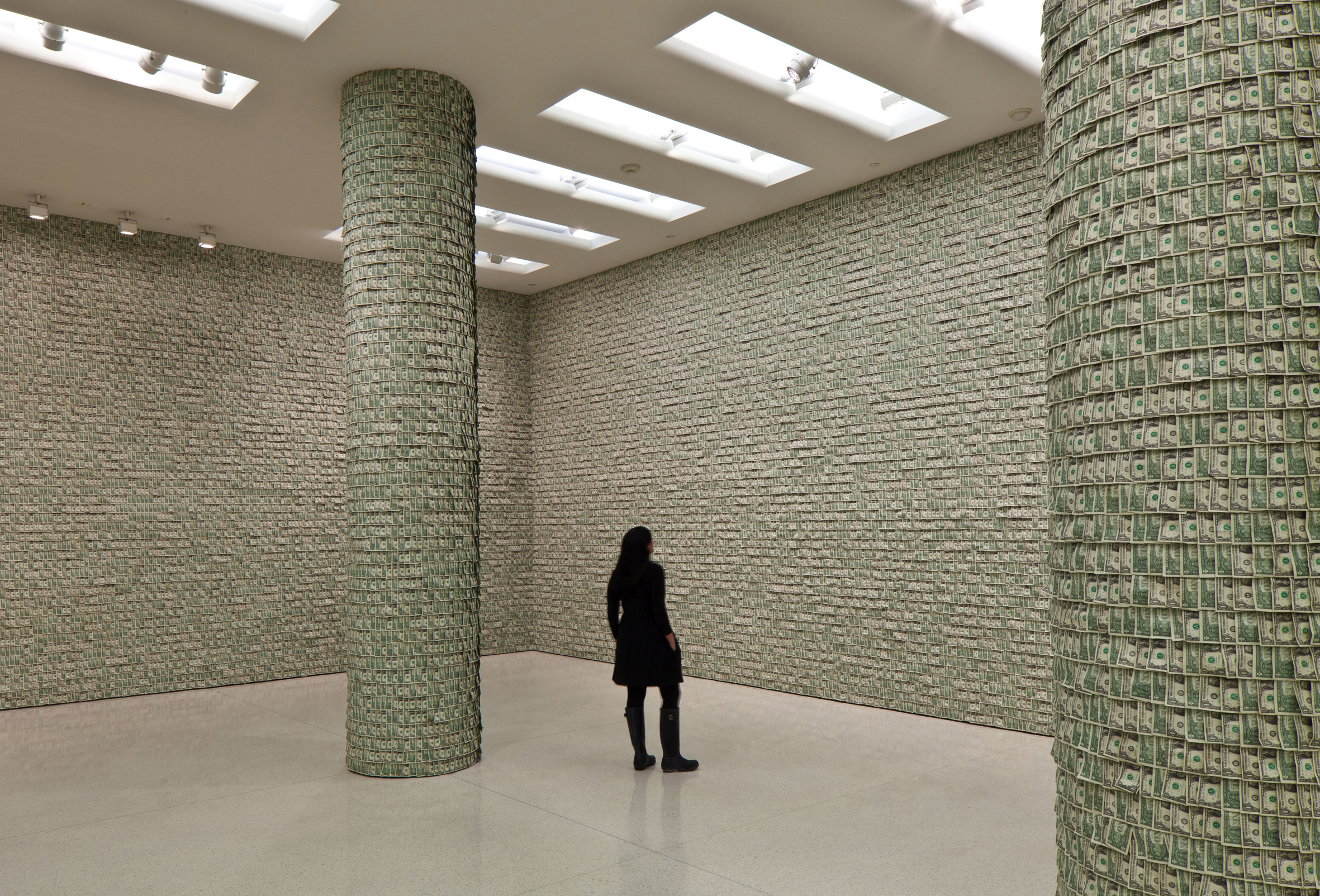 Installation view: Hans-Peter Feldmann, Solomon R. Guggenheim Museum, New York, USA, 2011 |  | ProjecteSD