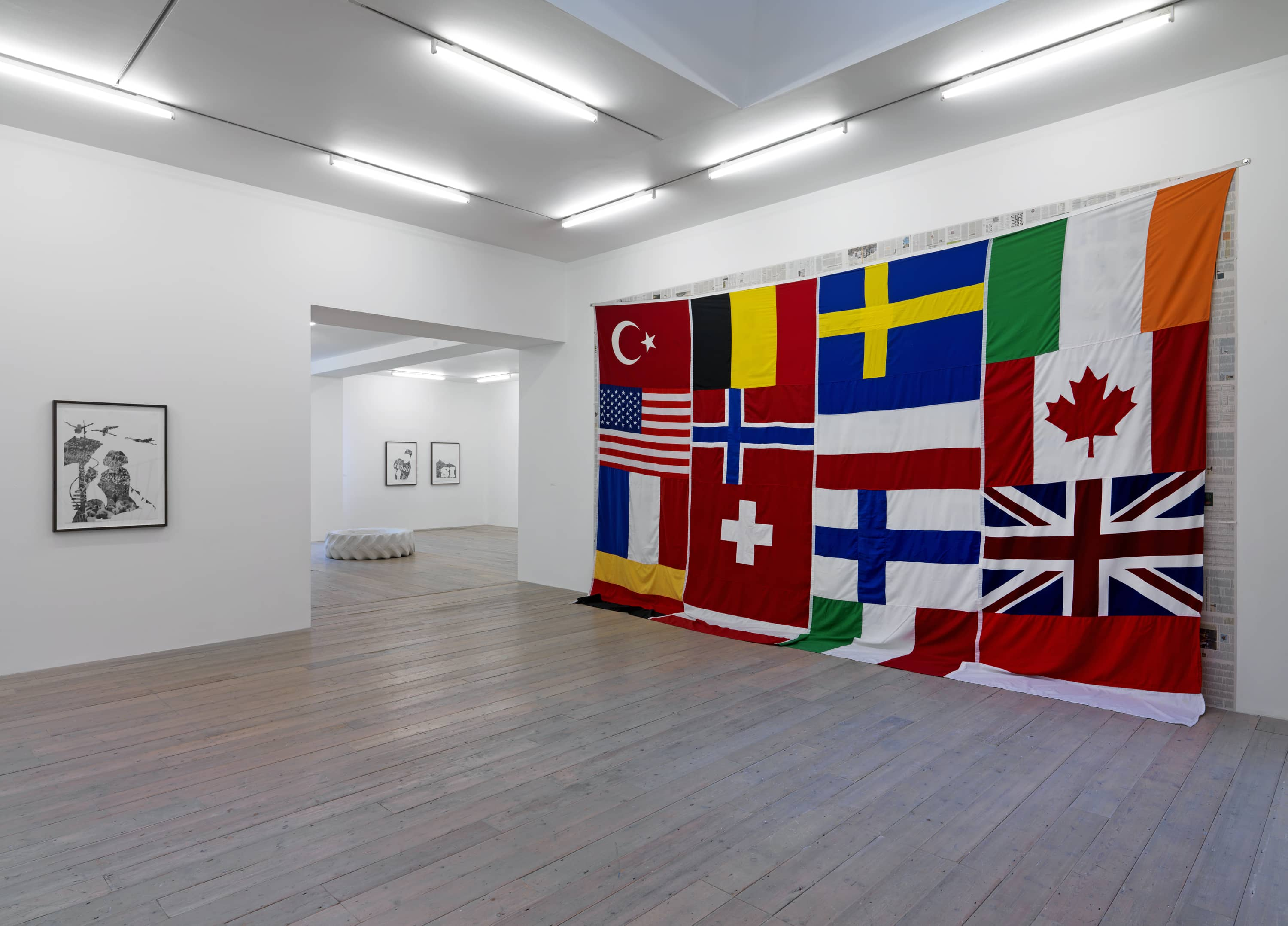 Installation view: Asier Mendizabal, Raven Row, London, 2011 |  | ProjecteSD