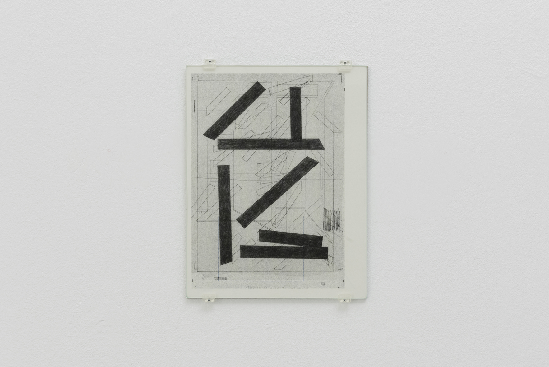 Zeichnungen 12, 2015 | A Drawing Placed Between Two Objects (with Mark Manders) | ProjecteSD