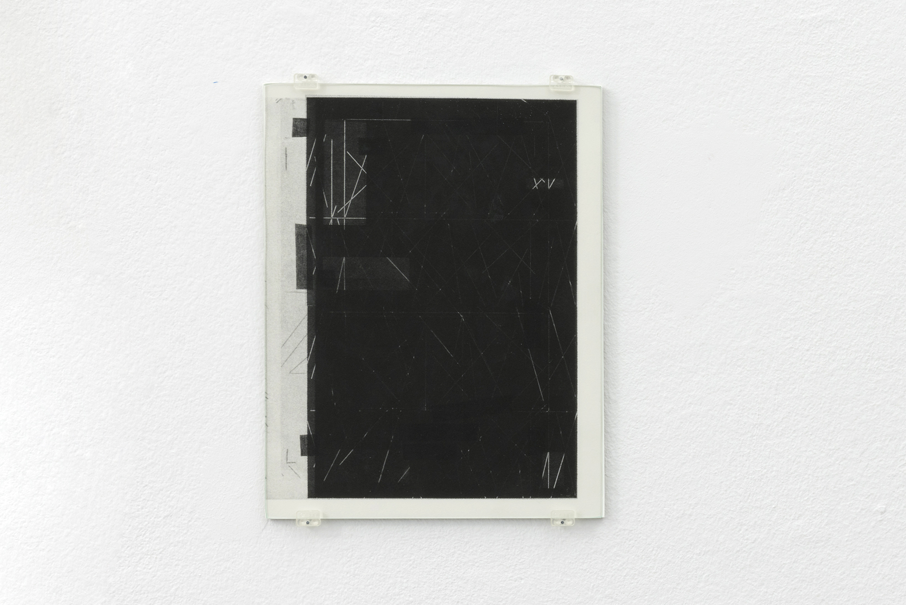 Zeichnungen 9, 2015 | A Drawing Placed Between Two Objects (with Mark Manders) | ProjecteSD