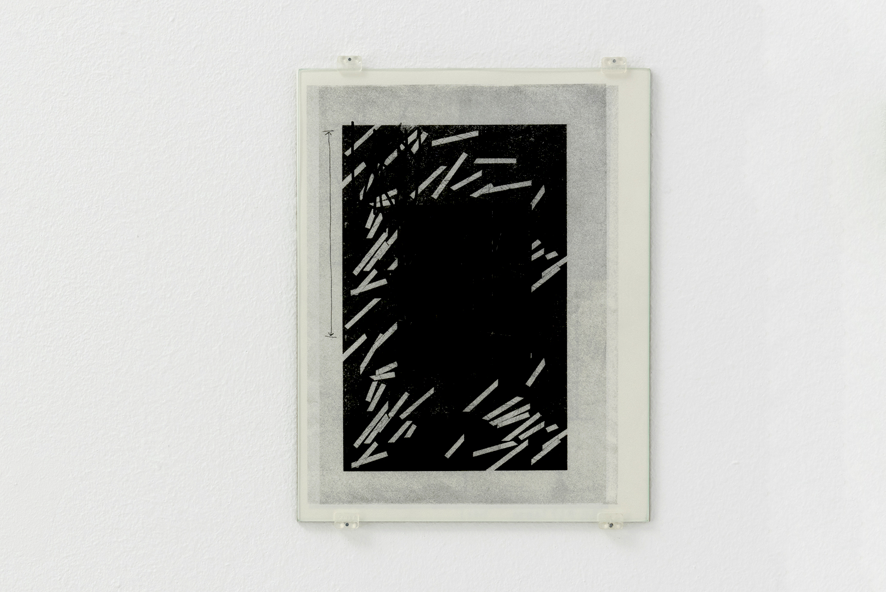 Zeichnungen 13, 2015 | A Drawing Placed Between Two Objects (with Mark Manders) | ProjecteSD