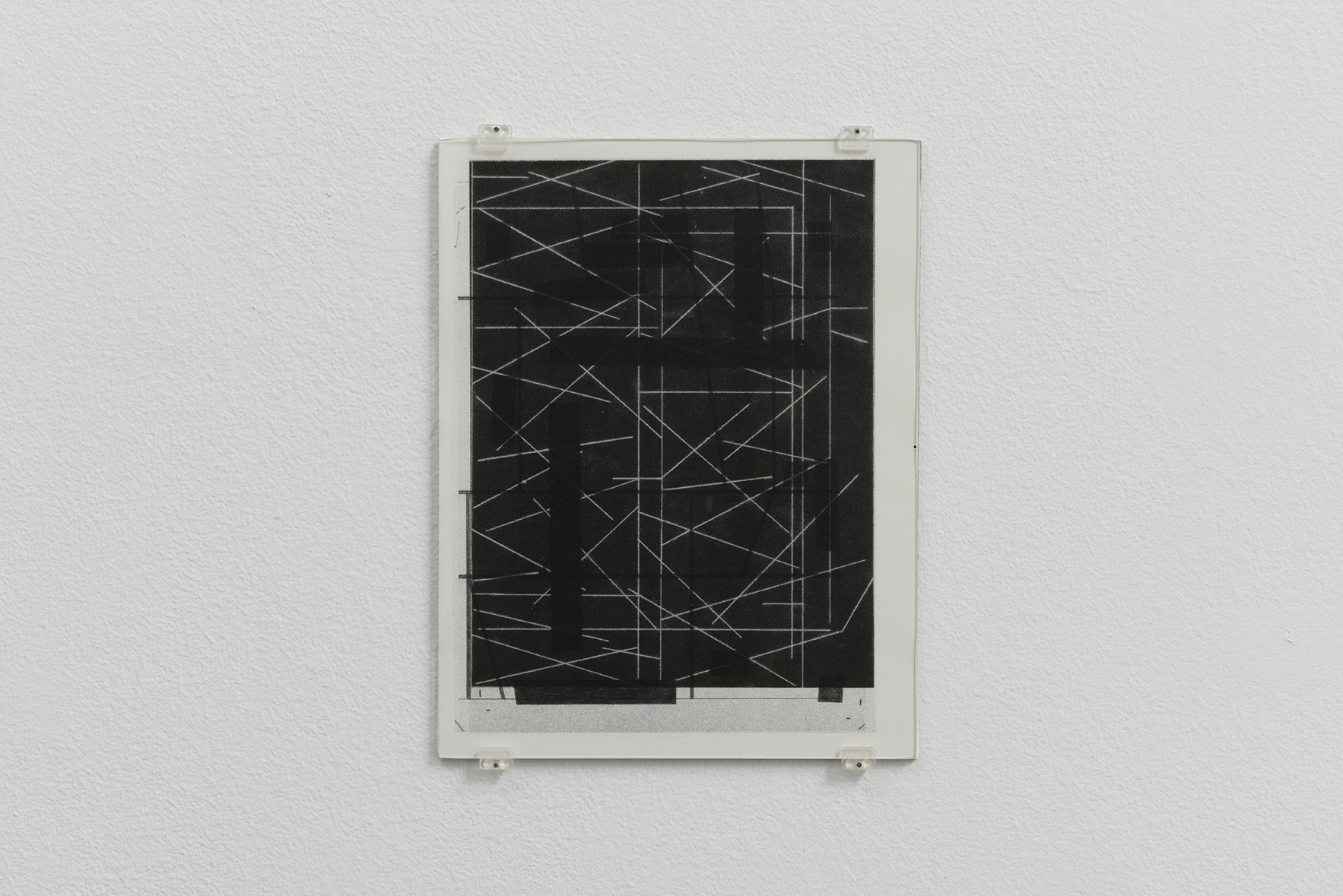 Zeichnungen 2, 2015 | A Drawing Placed Between Two Objects (with Mark Manders) | ProjecteSD