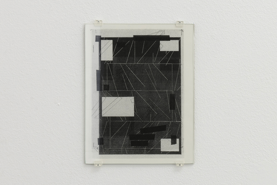 Zeichnungen 1, 2015 | A Drawing Placed Between Two Objects (with Mark Manders) | ProjecteSD