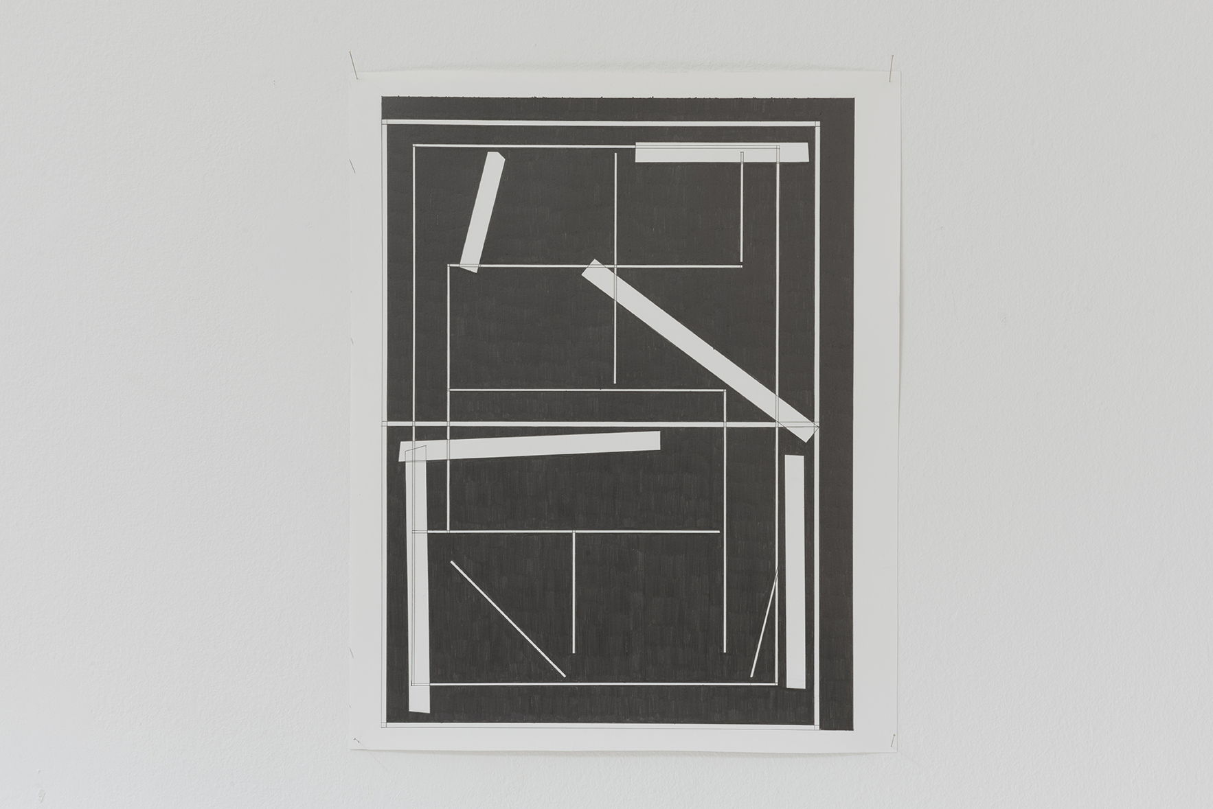The Complete Works, 2015. | A Drawing Placed Between Two Objects (with Mark Manders) | ProjecteSD