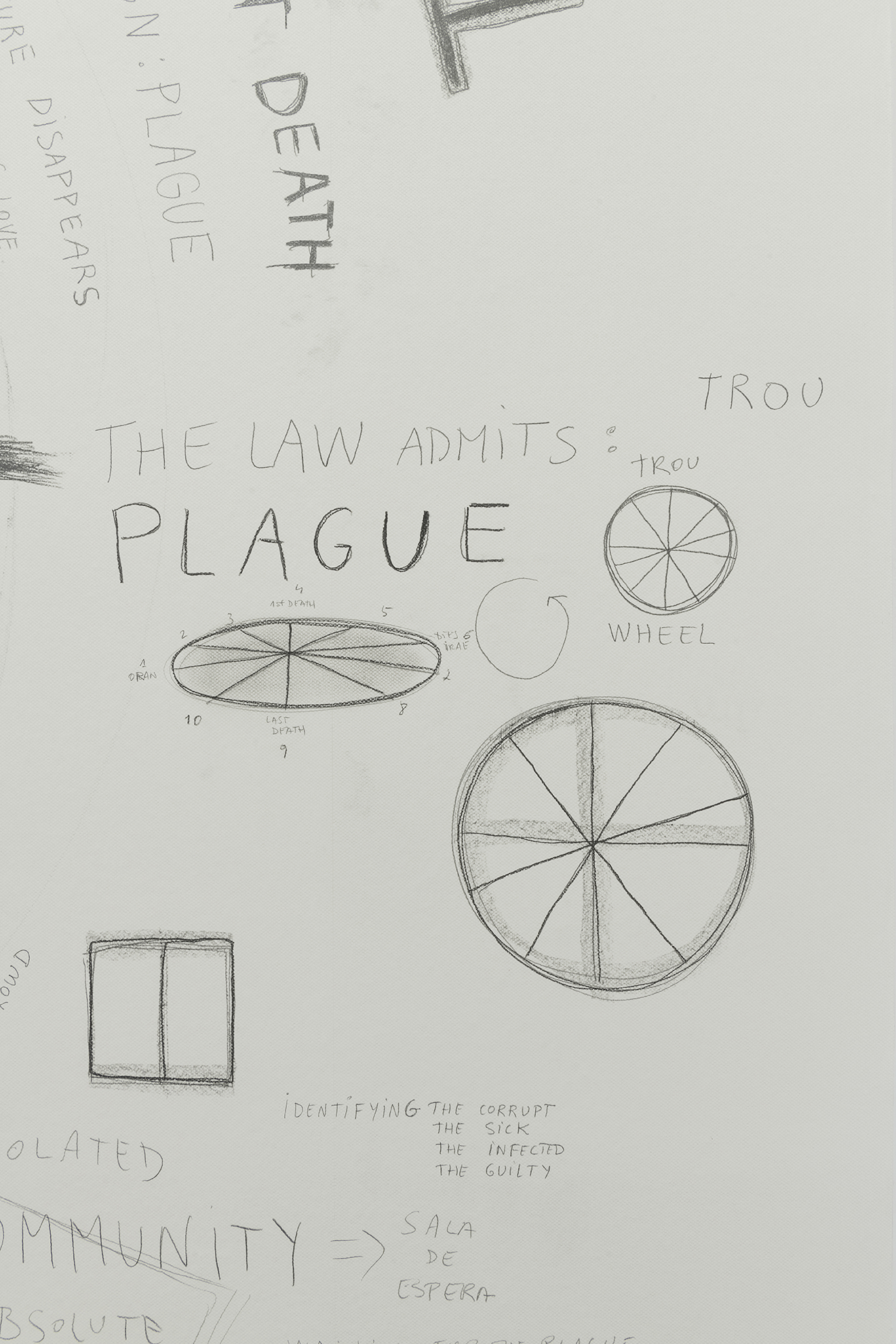The Plague Annotated, 2018 (Detail) | La Peste (The Plague) | ProjecteSD