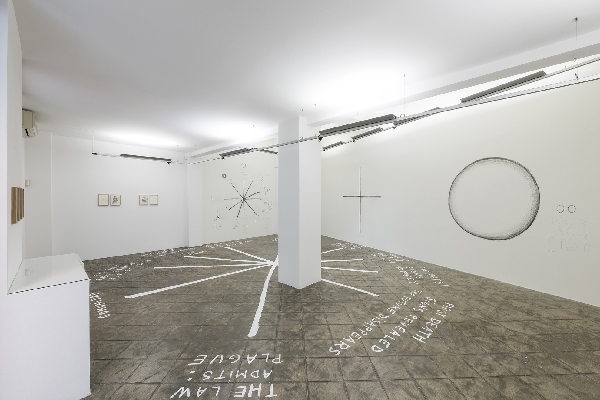 Installation view: La Peste, ProjecteSD | La Peste (The Plague) | ProjecteSD