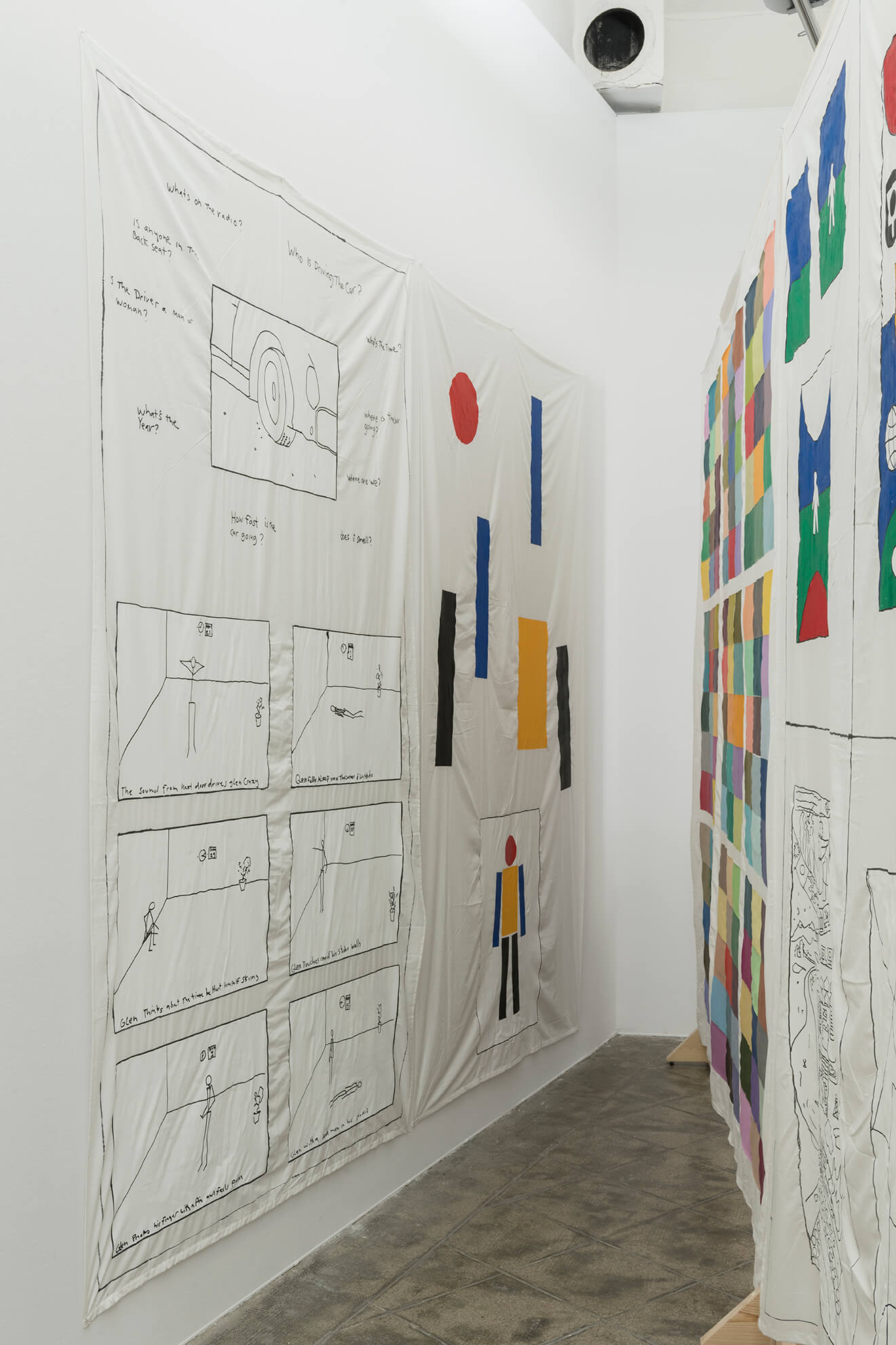 Installation view: Representing The Work, ProjecteSD | Representing The Work | ProjecteSD