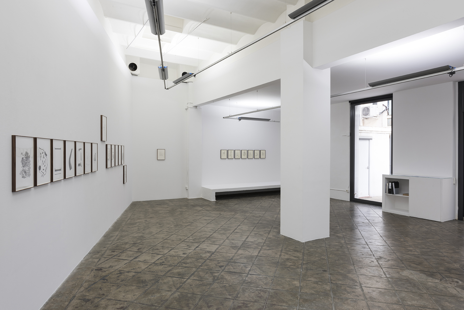 Installation view: La Vida Abstracta de Billy Murcia, ProjecteSD | La Vida Abstracta de Billy Murcia | ProjecteSD