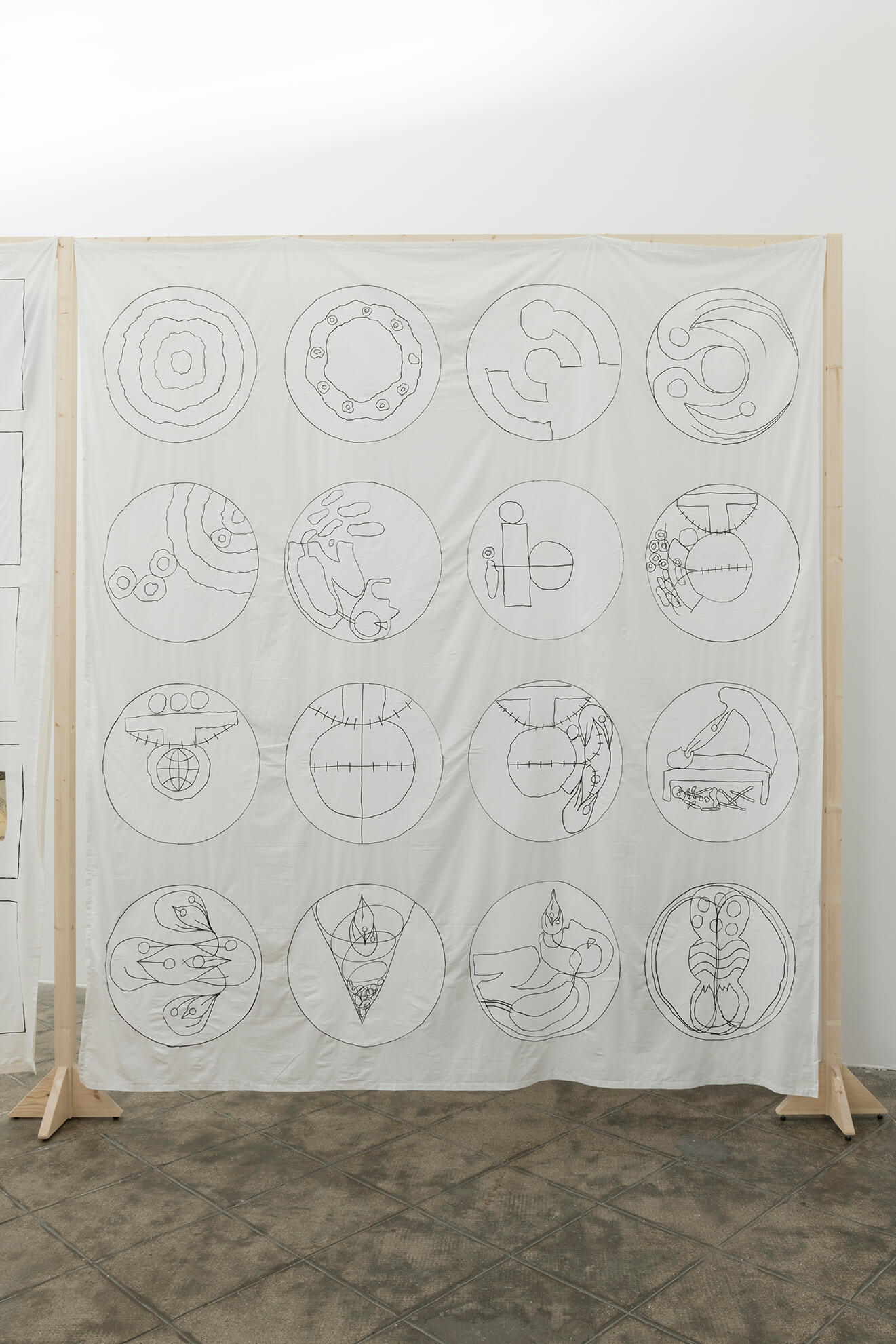 Untitled (signs from cosmology), 2018   Representing The Work   ProjecteSD