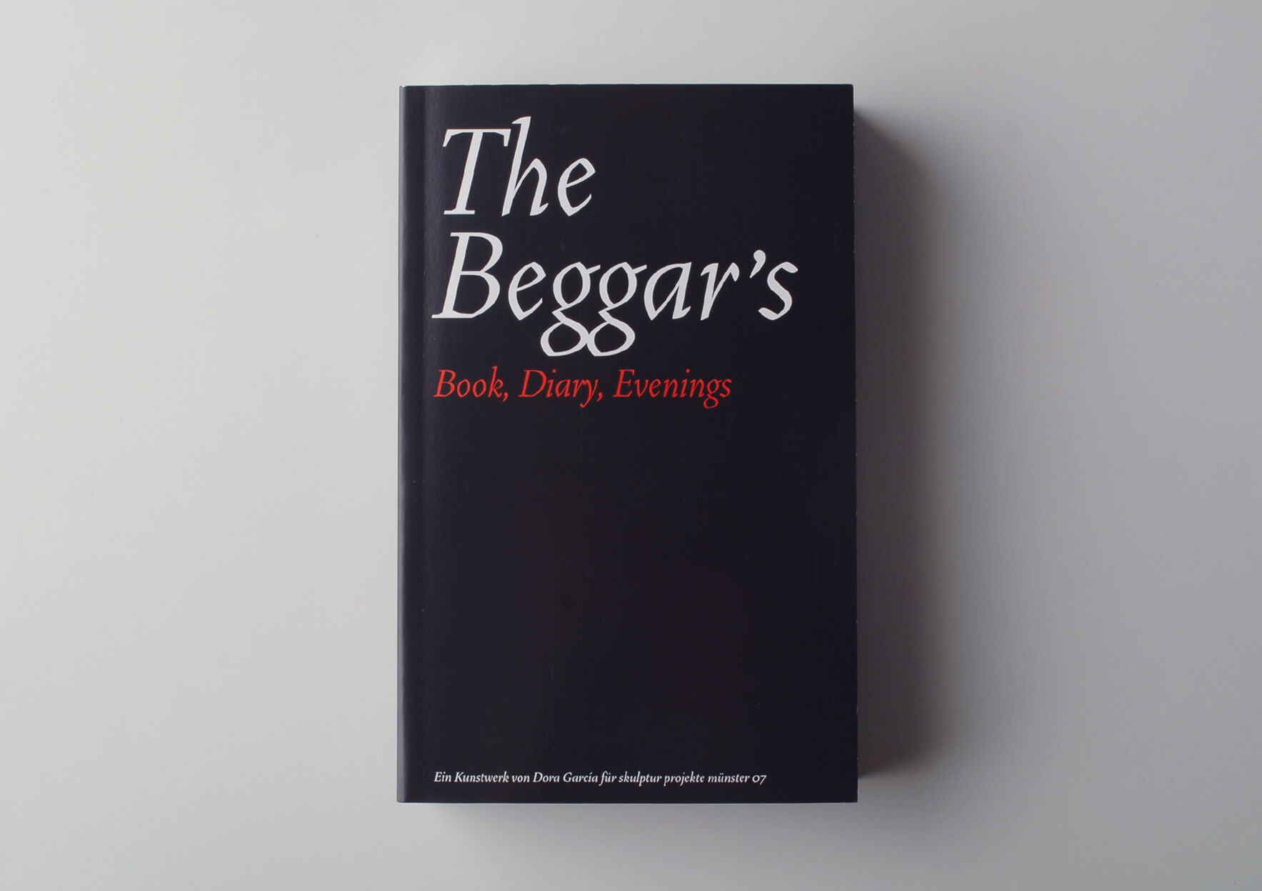 | The Beggar´s. Book, diary, evenings | ProjecteSD