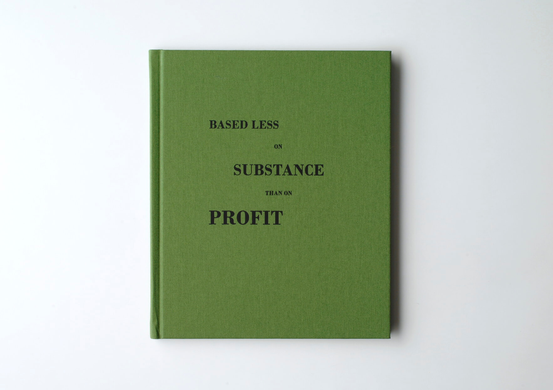 | Based less on substance than on profit | ProjecteSD