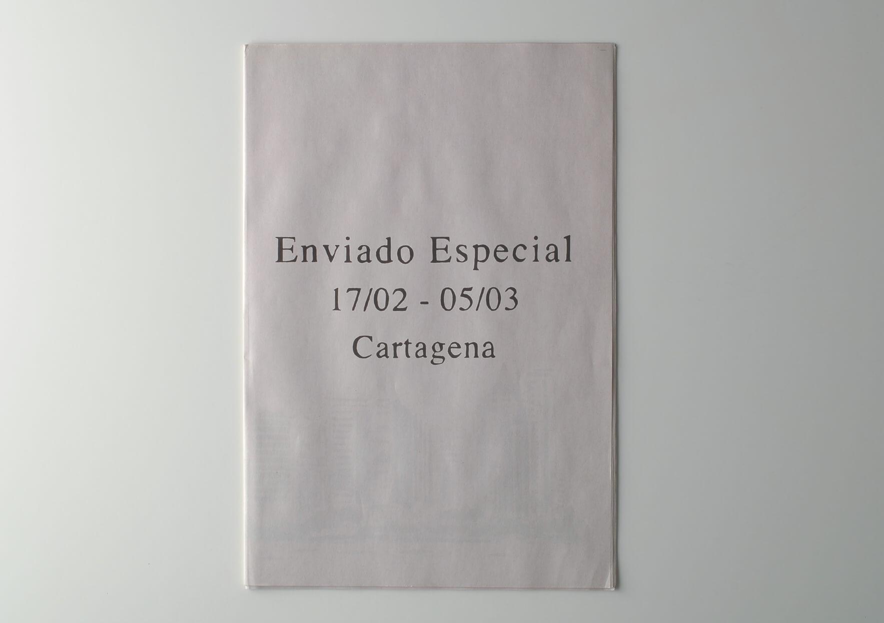 | Enviado Especial 17/02 – 05/03 Cartagena | ProjecteSD