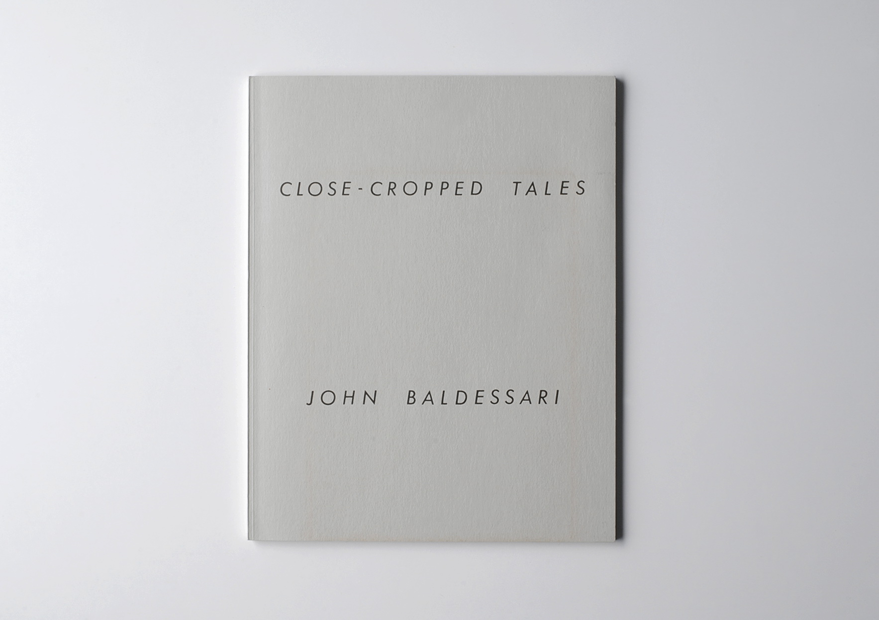 JOCHEN LEMPERT. Close-Cropped Tales # 2, 2015 | Close-Cropped Tales | ProjecteSD