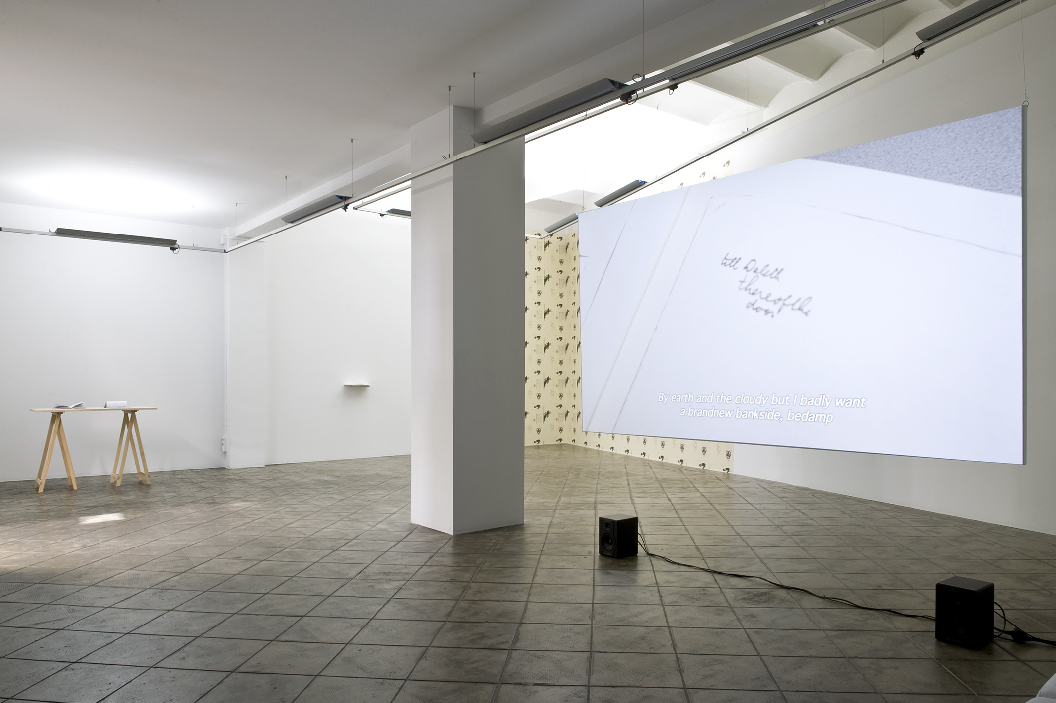 Installation view: Here Comes Everybody, ProjecteSD, Barcelona, 2013. | Here Comes Everybody | ProjecteSD