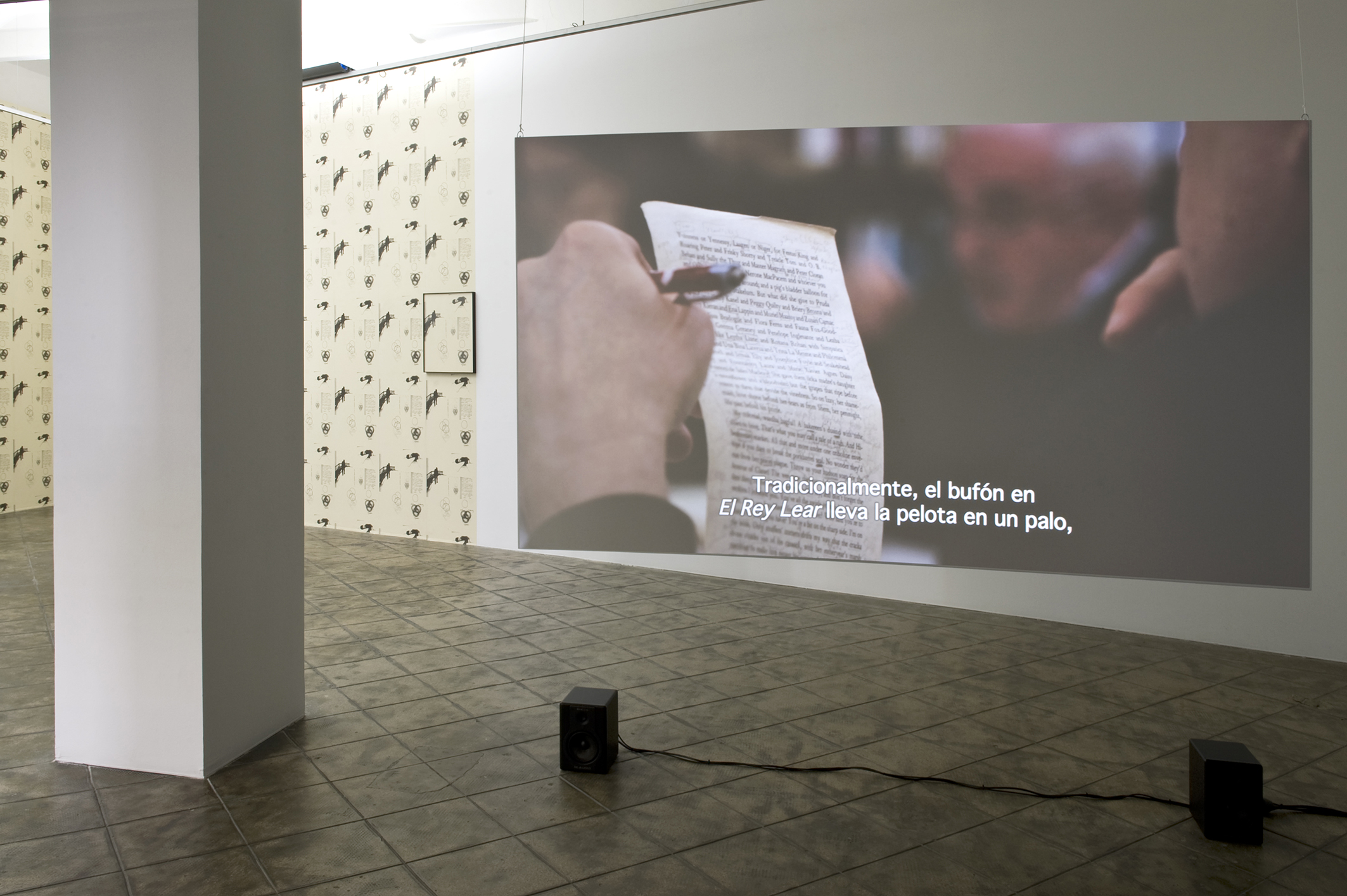 Installation view: Here Comes Everybody, ProjecteSD, Barcelona, 2013.   Here Comes Everybody   ProjecteSD