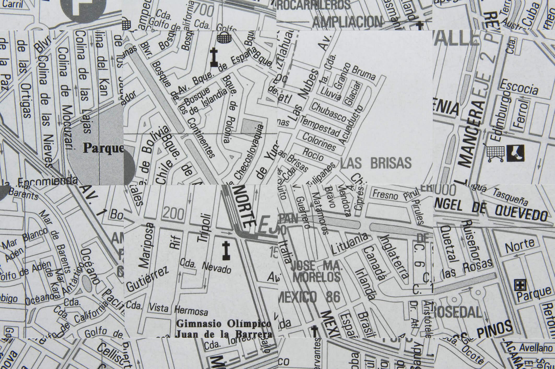 La idea del Norte: Calles, 2014 (Detail) | La idea del Norte | ProjecteSD