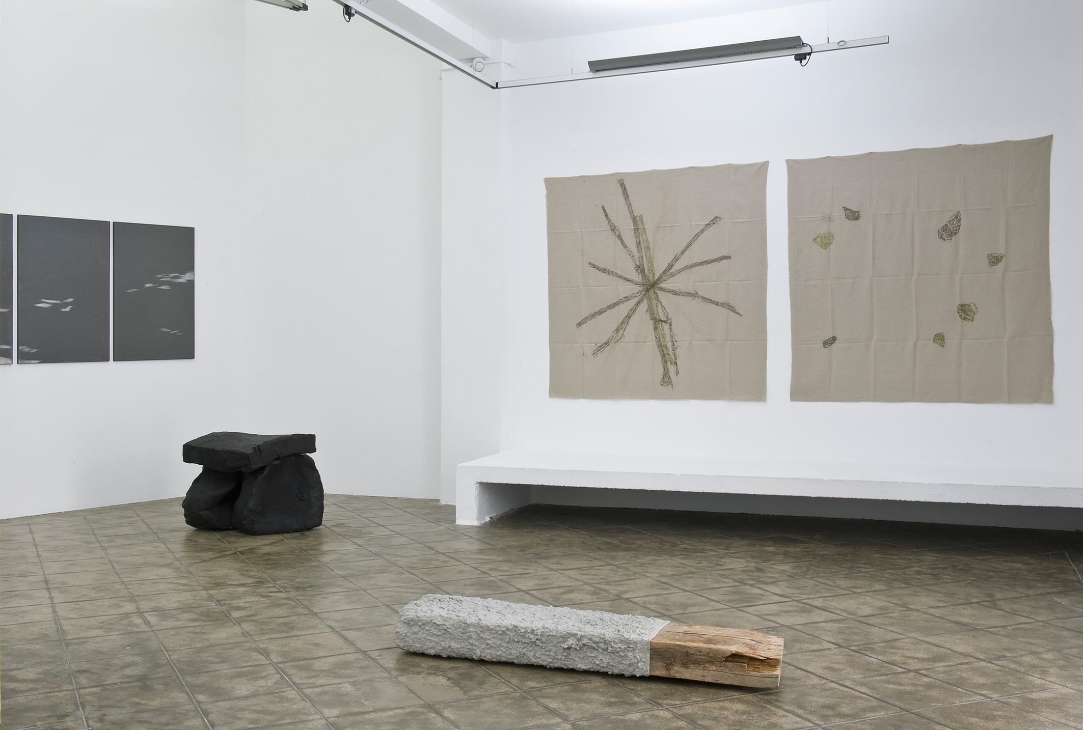 Installation view: Map, Record, Picture, Sculpture, ProjecteSD, Barcelona, 2013. | Map, Record, Picture, Sculpture | ProjecteSD