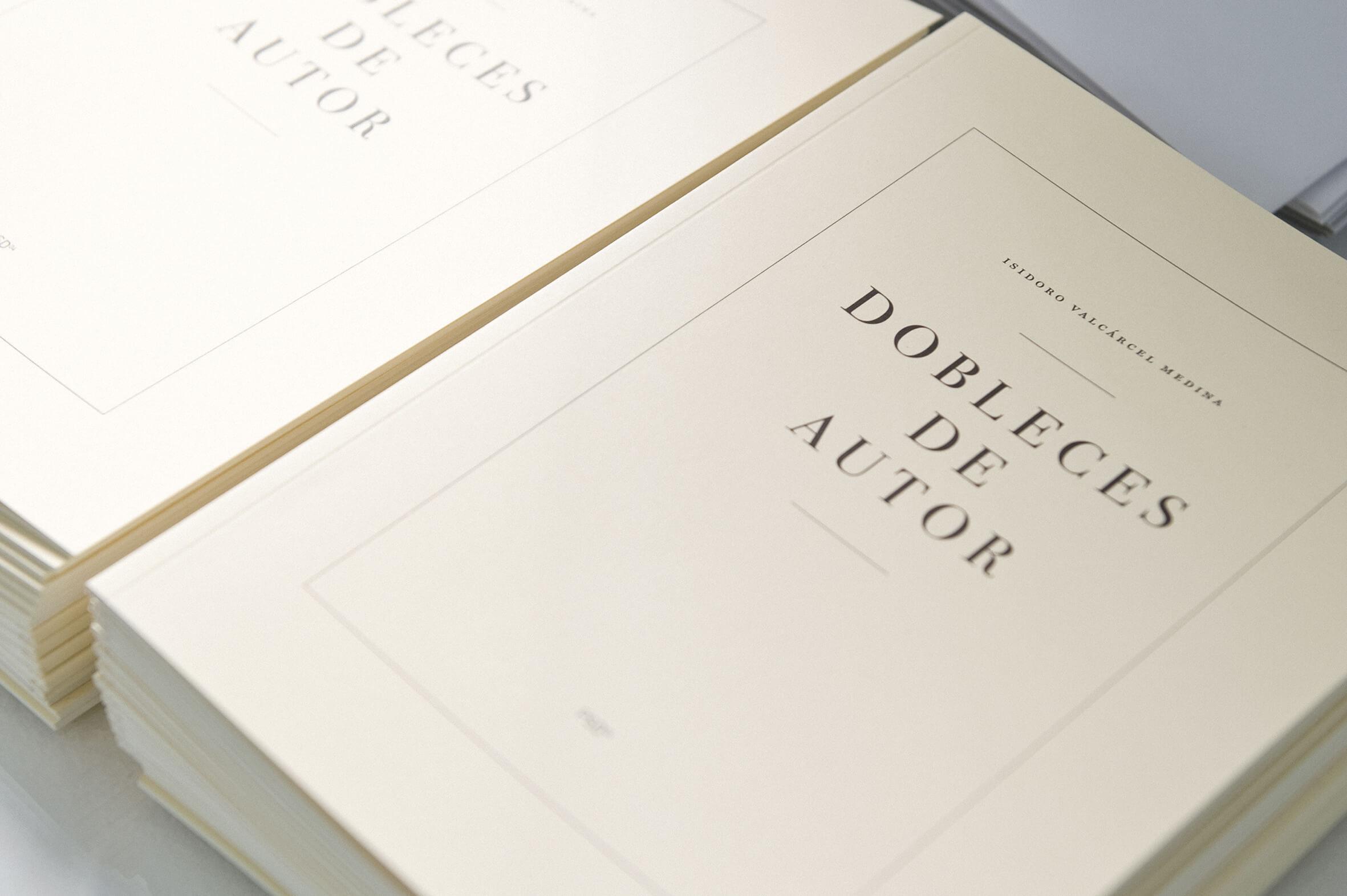 Book Dobleces de Autor.Vostè Mateix, ProjecteSD, Barcelona, 2013 | Vostè Mateix | ProjecteSD