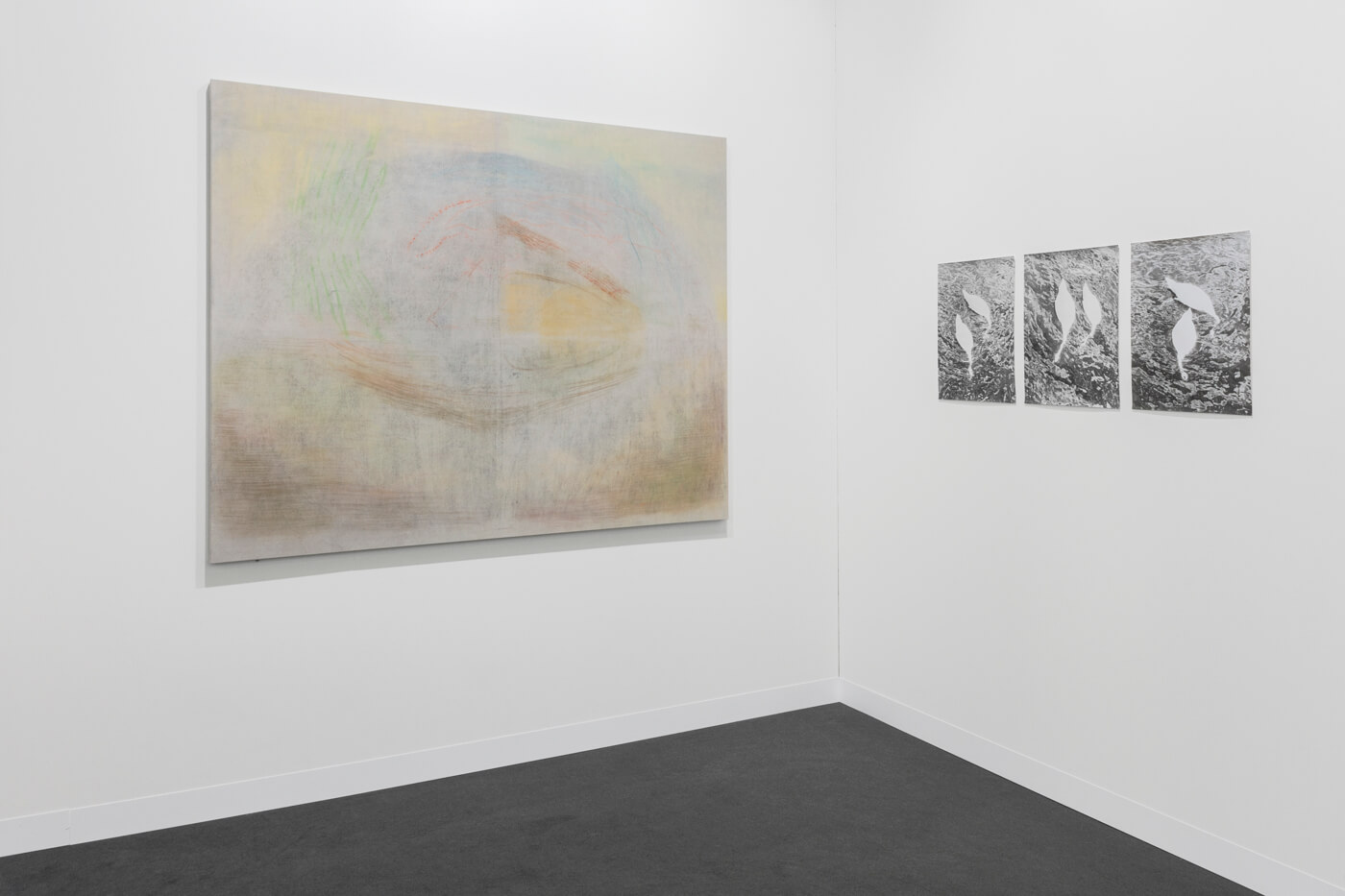 Installation view: ProjecteSD, Hall 2.1, Booth L4 | ART BASEL 2019 | ProjecteSD