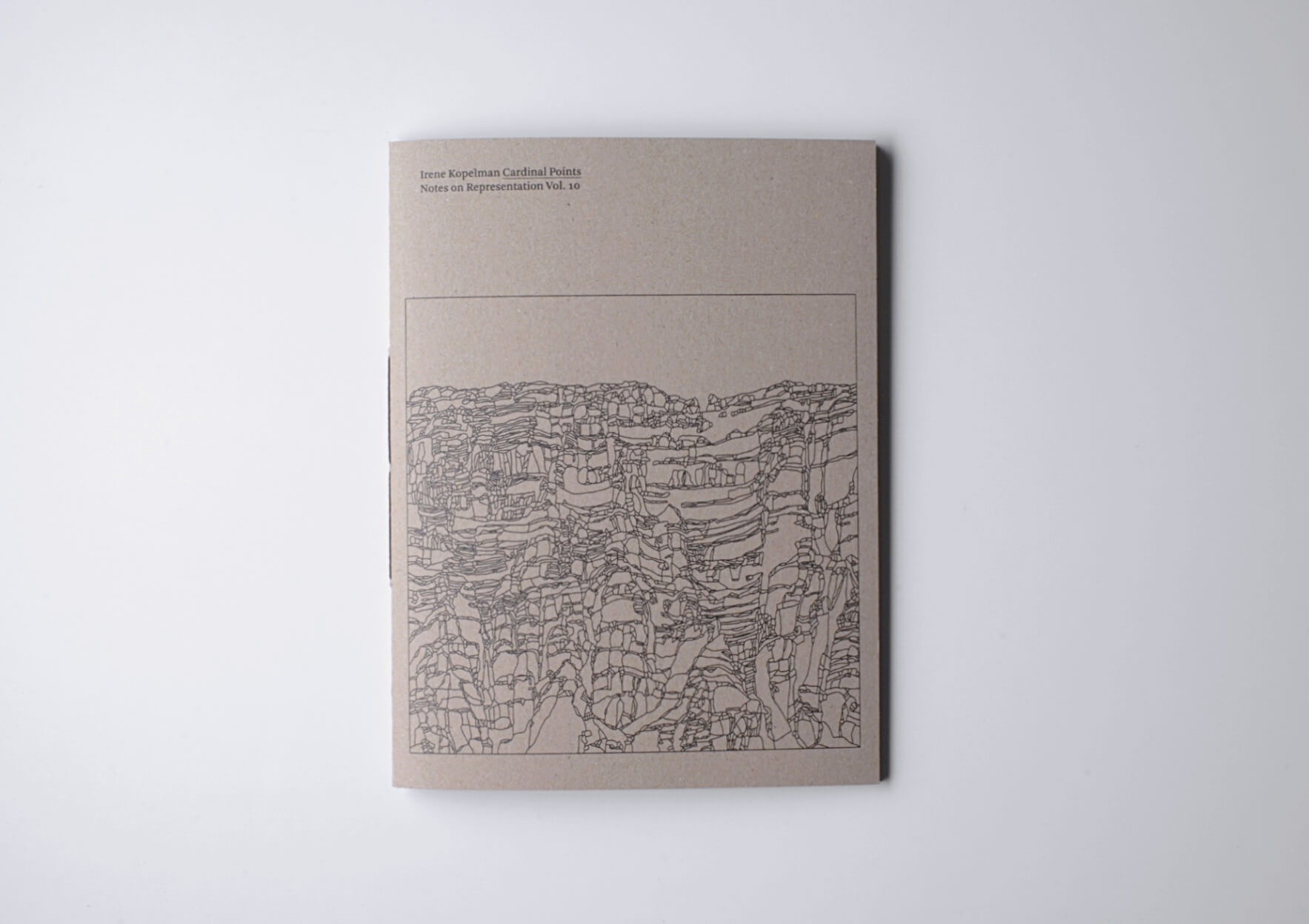 Irene Kopelman Cardinal Points. Notes on Representation V.10, 2019 28 x 21 cm, 84 p. Texts in English. Ed. Roma Publications | Mother | ProjecteSD