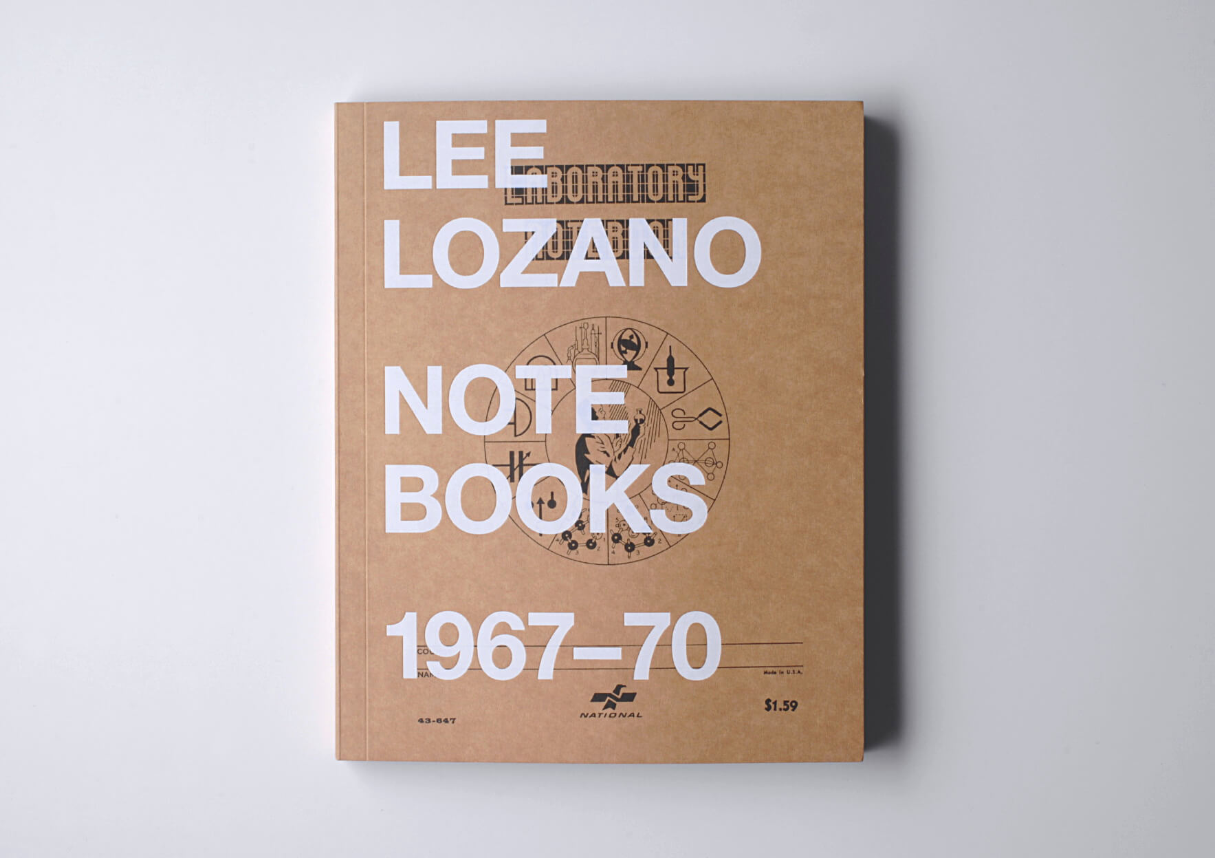 Lee Lozano Notebooks 1967 – 70, 2010 27 x 21 cm, 224 p. Ed. Primary Information, New York | Mother | ProjecteSD
